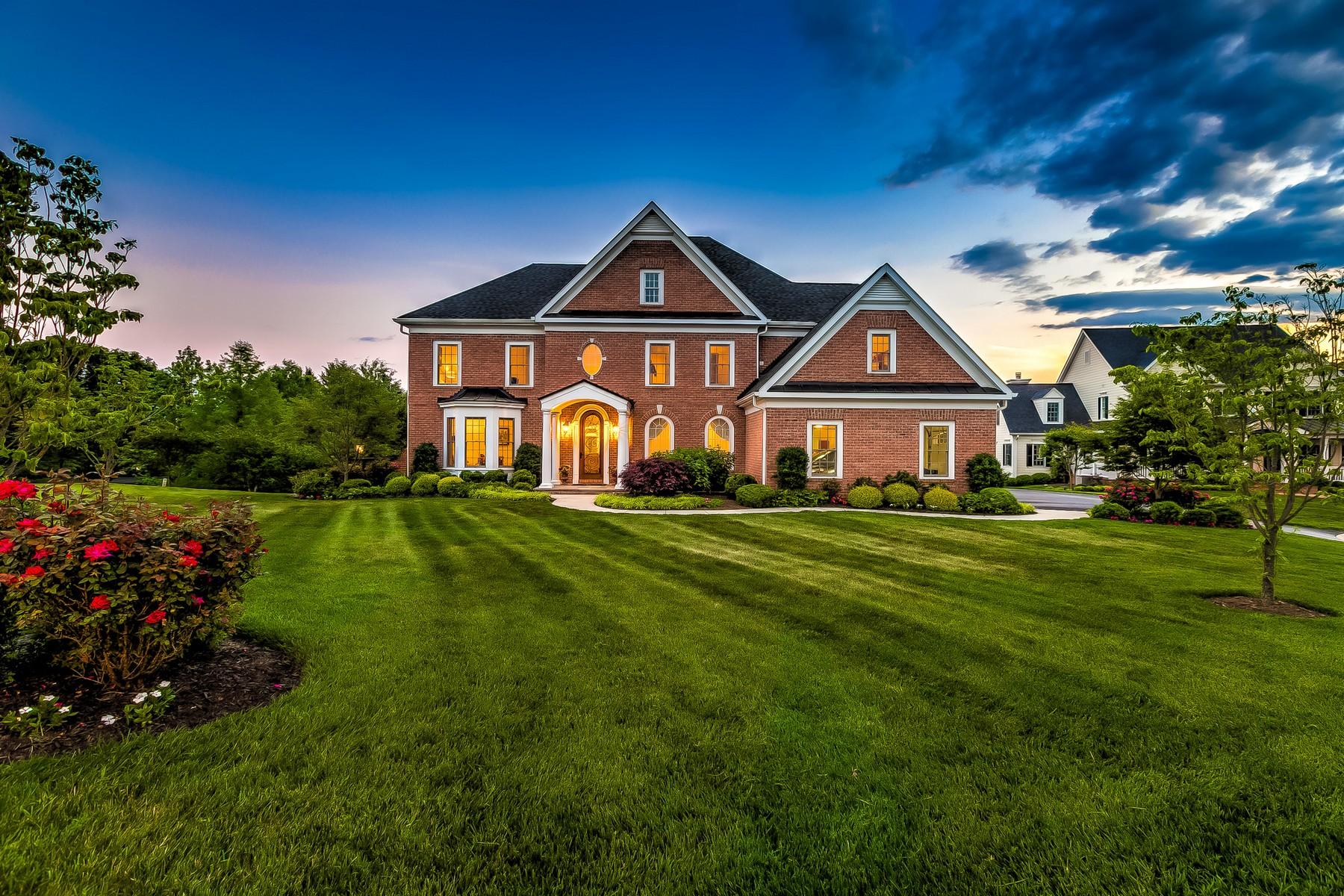 Single Family Homes por un Venta en A JPaul Custom Built Masterpiece in Coveted Ridge at Ruxton 720 Abell Ridge Circle Ruxton, Maryland 21204 Estados Unidos