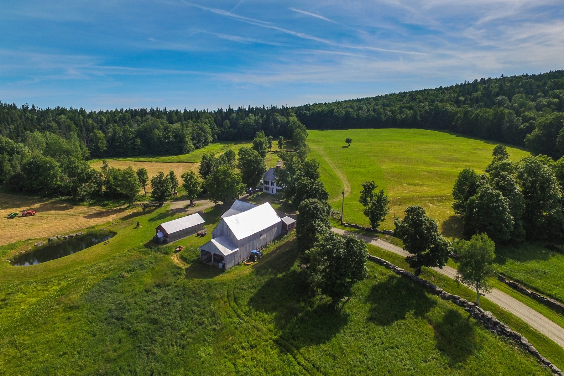 Single Family Home for Sale at Exceptional Property with 197 Acres 89 Wellman Rd Wilmington, Vermont 05363 United States