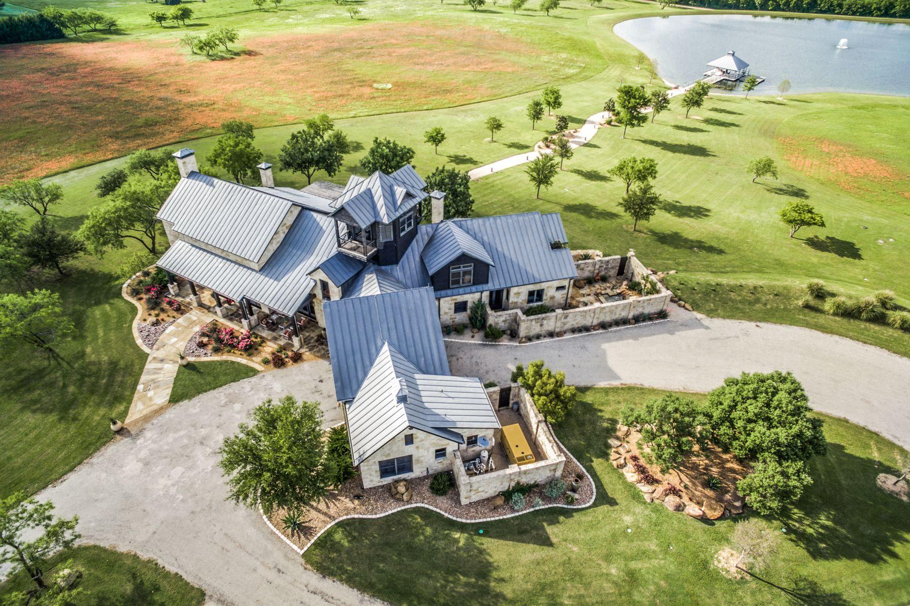 Granjas / Hacienda / Platanción por un Venta en Stone House Ranch 100 Acres 9674 County Road 106 Celina, Texas 75009 Estados Unidos