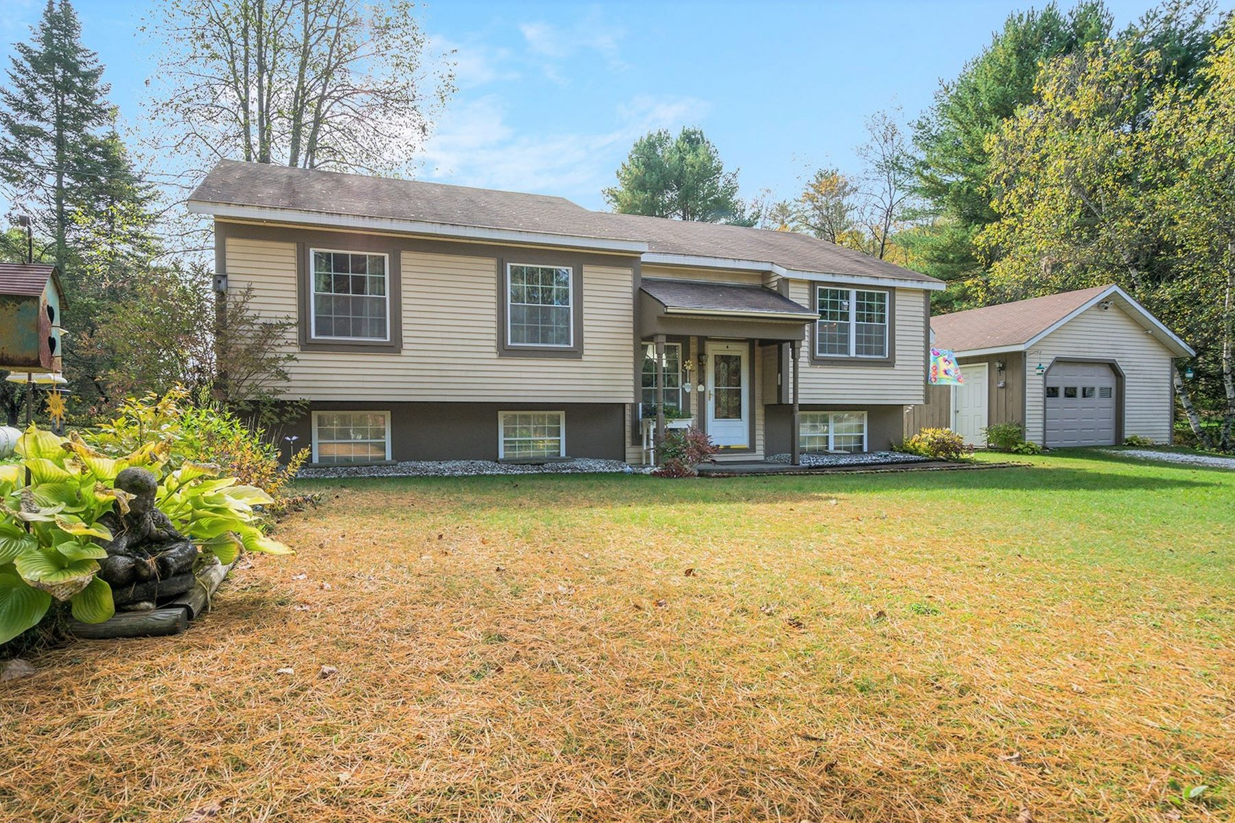 Single Family Homes for Sale at Three Bedroom Split Level Ranch in Bethel 34 Bicentennial Ln Bethel, Vermont 05032 United States