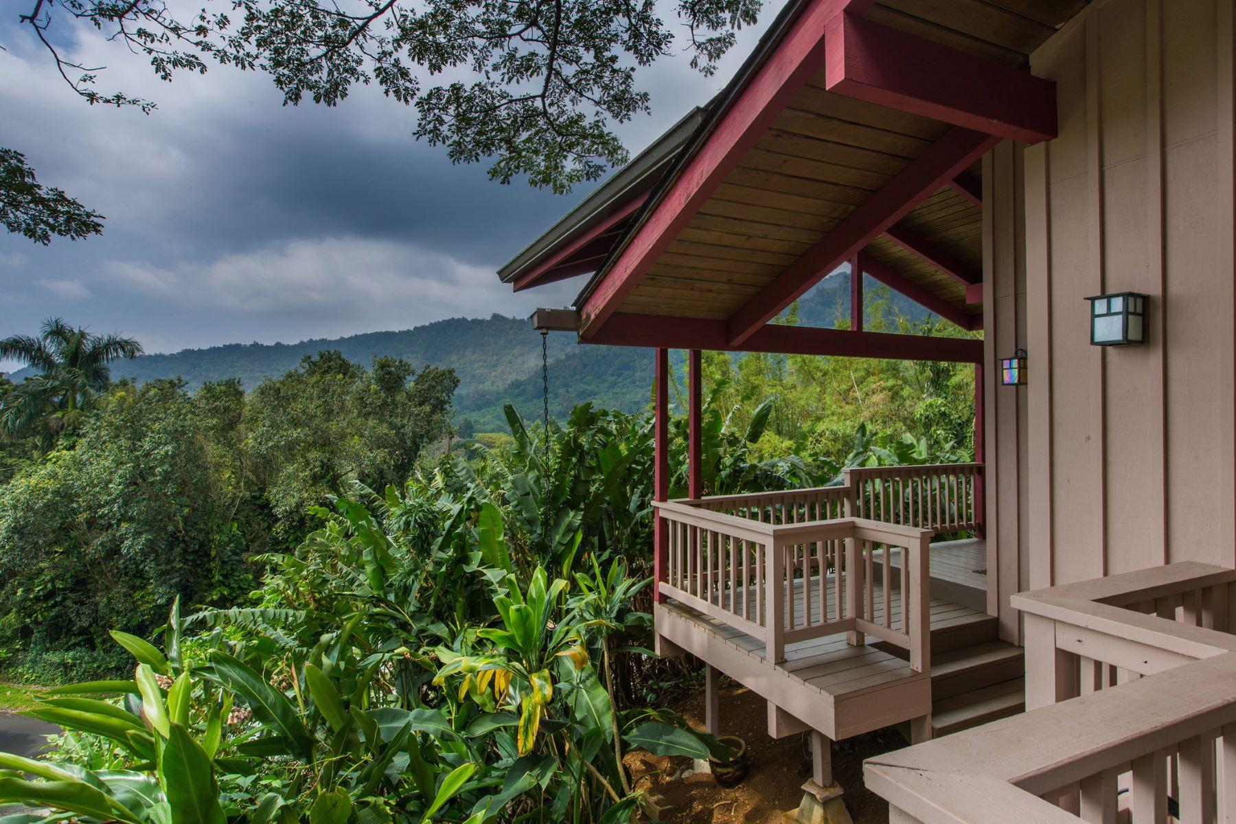 Single Family Home for Sale at Peaceful Rainforest Tree House 3155 Kaohinani Drive Honolulu, Hawaii 96817 United States
