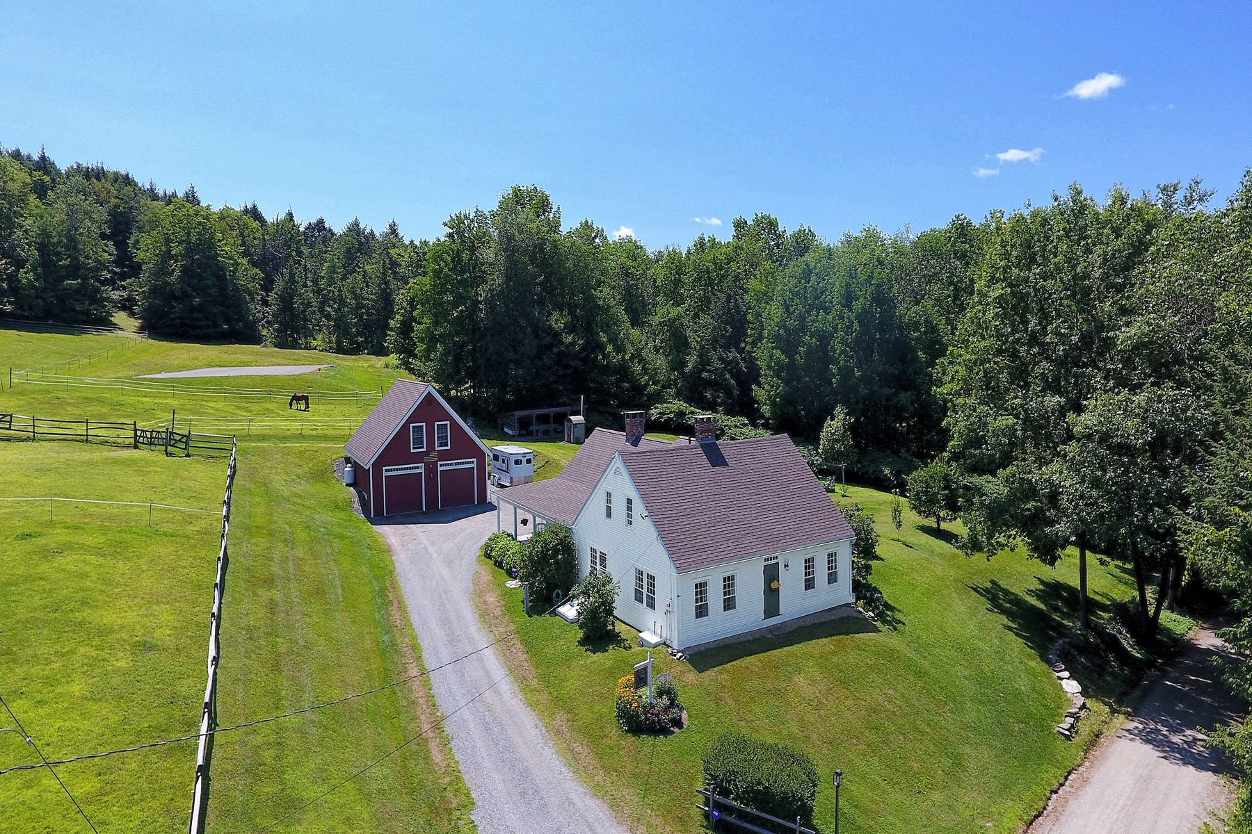 Single Family Homes for Sale at Restored 1810 Cape Style Farm House 806 Breezy Hill Rd Springfield, Vermont 05156 United States