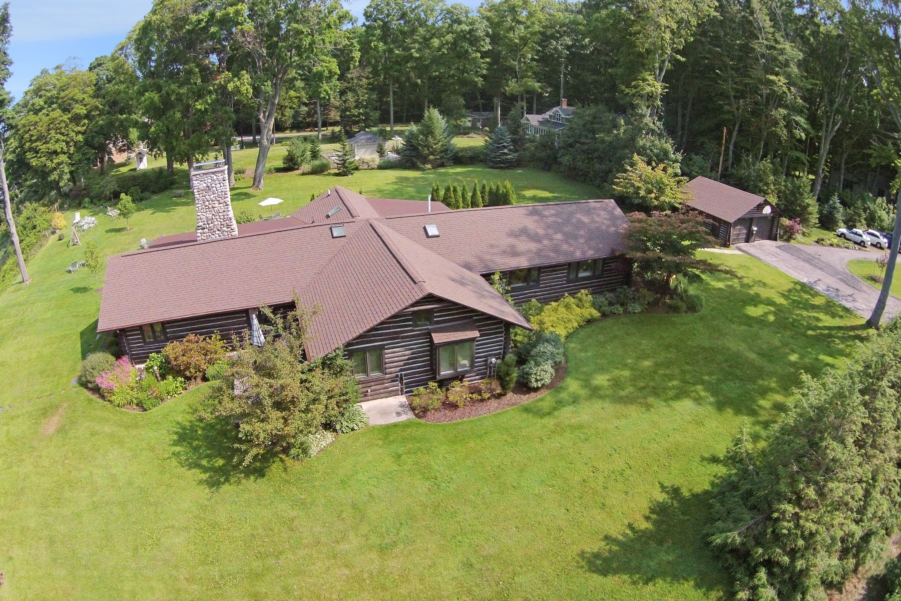 Single Family Homes for Sale at Charming Waterfront Home 3119 Scenic Drive Muskegon, Michigan 49445 United States