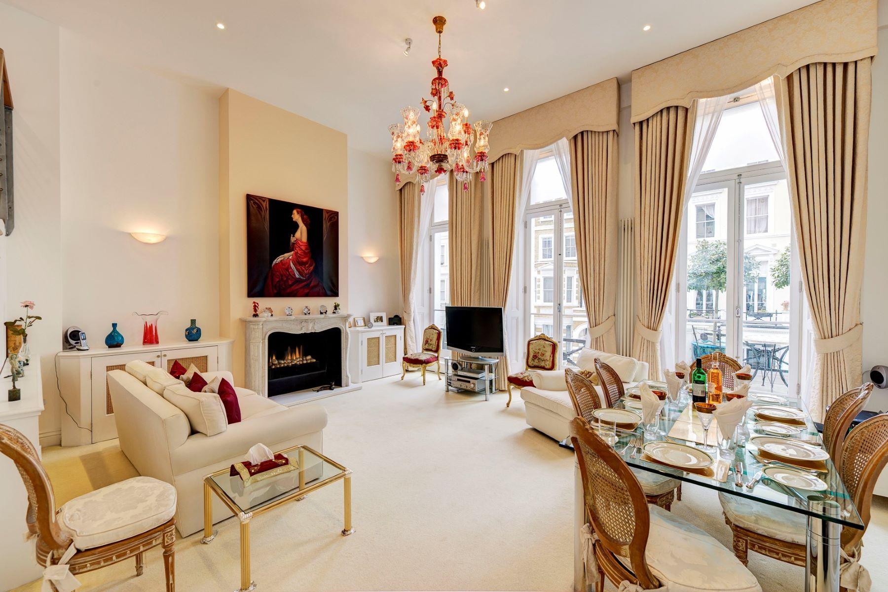 Apartamento para Venda às Lexham Gardens, Kensington, London London, Inglaterra, Reino Unido