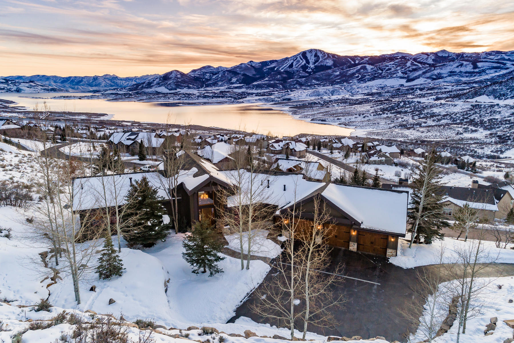 Single Family Homes 용 매매 에 Spectacular Views From The Top Of Deer Mountain 12664 N Mud Springs Circle Kamas, 유타 84036 미국