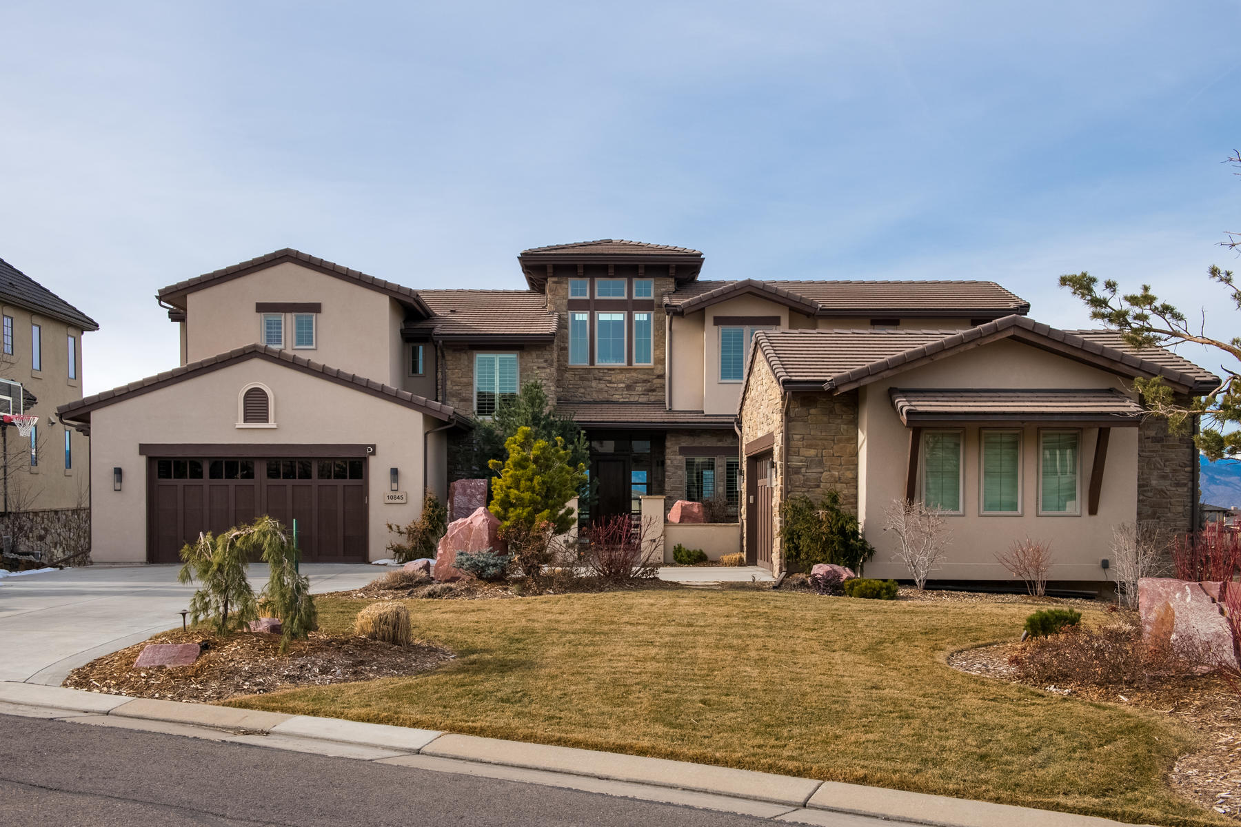 Single Family Home for Active at Backcounty 10845 Rainribbon Rd Highlands Ranch, Colorado 80126 United States
