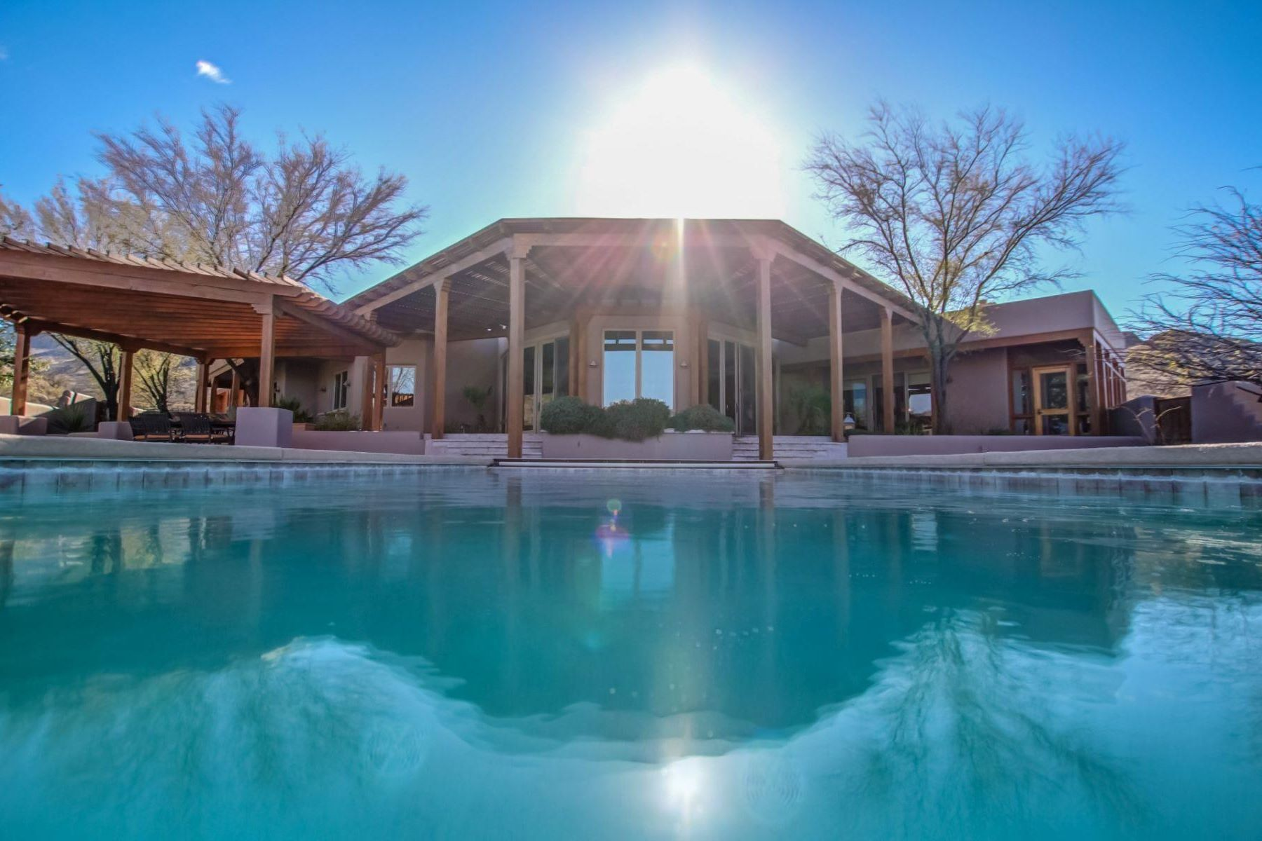 Single Family Home for Sale at Ranch Estate in the Exclusive Morning Star Ranch Gated Community 150 Canyon Pass Court, Tubac, Arizona, 85646 United States