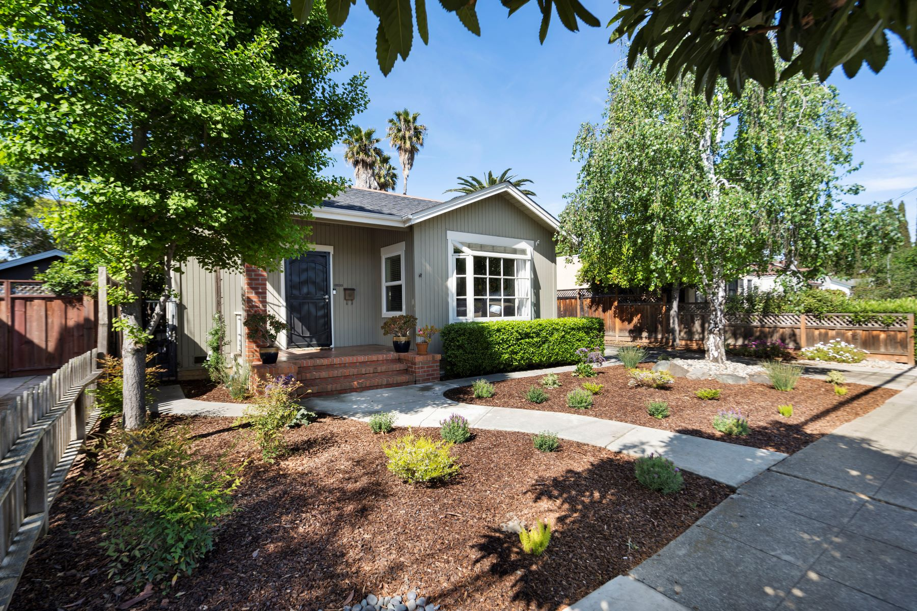 Single Family Homes for Active at Charming California Bungalow 1160 Woodrow Street Redwood City, California 94061 United States
