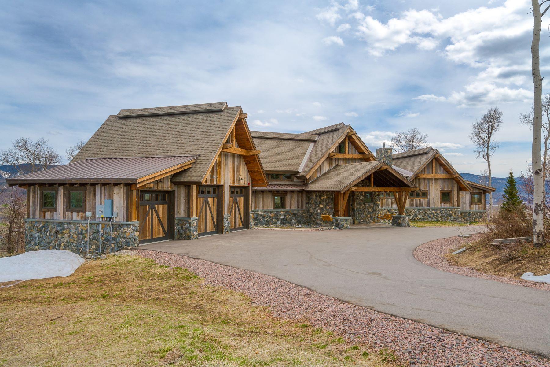 Maison unifamiliale pour l Vente à Sweet Retreat 30350 Blue Grouse Lane Steamboat Springs, Colorado, 80487 États-Unis