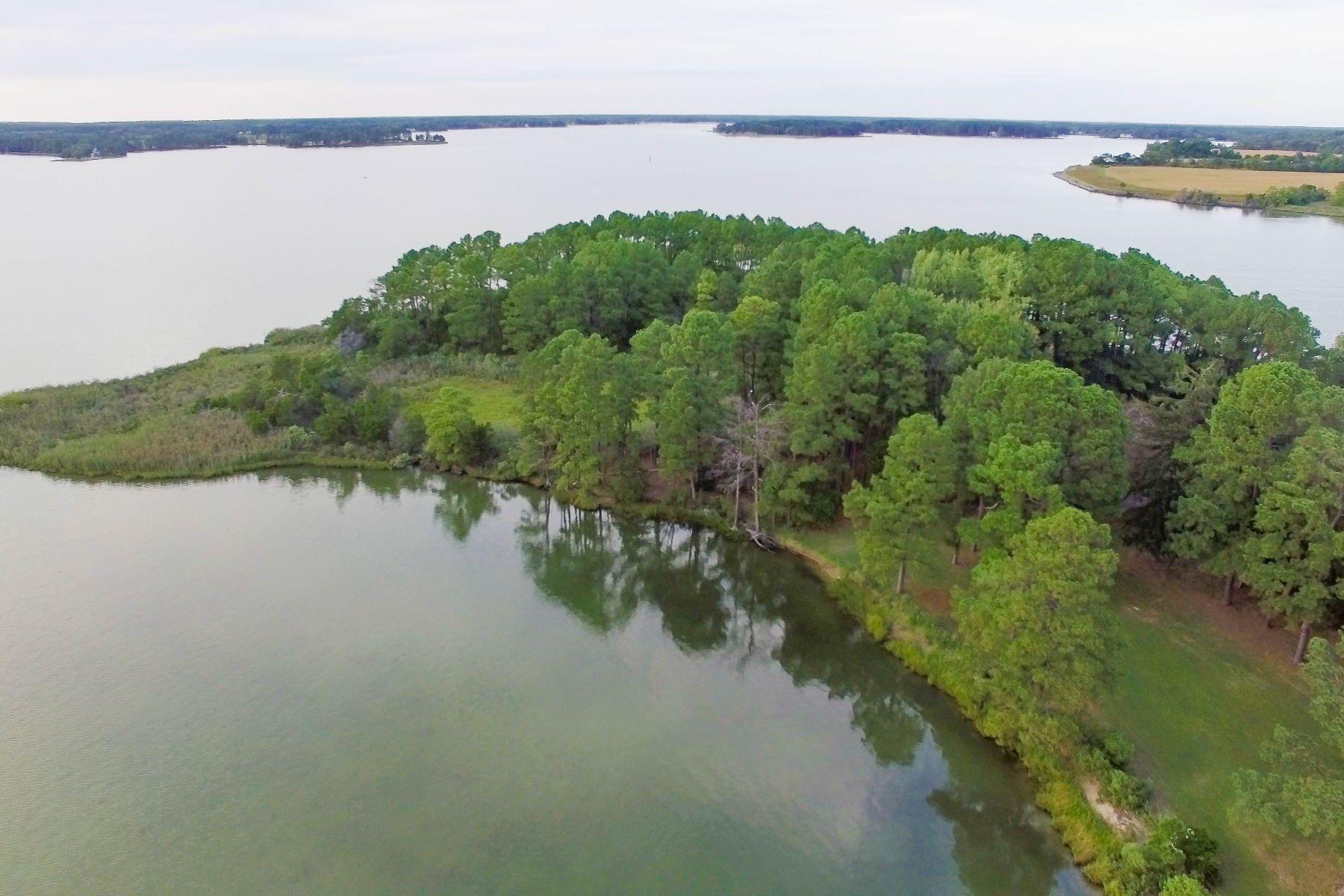 Terrain pour l Vente à 5252 Long Point Farm Drive Lot 3 Oxford, Maryland, 21654 États-Unis
