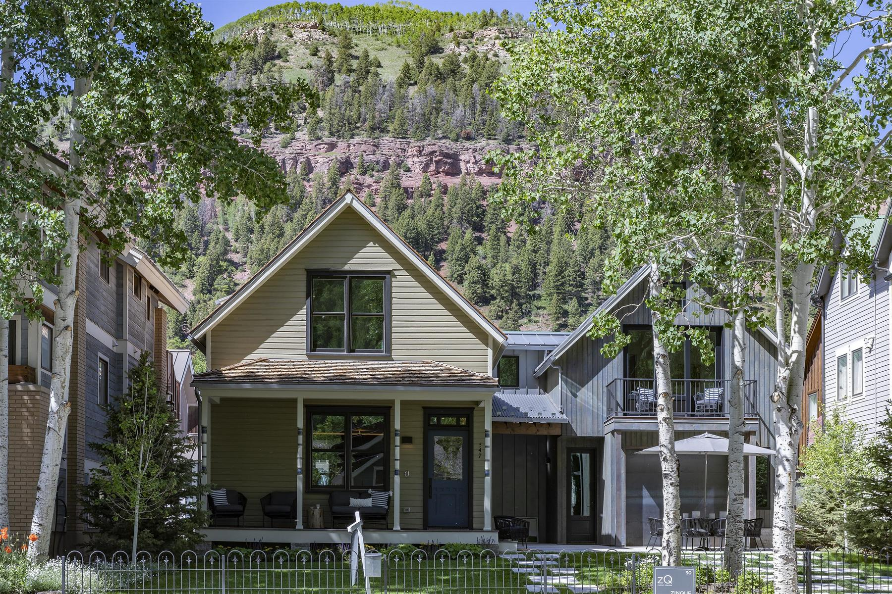 Single Family Homes for Sale at 547 West Pacific Avenue Telluride, Colorado 81435 United States