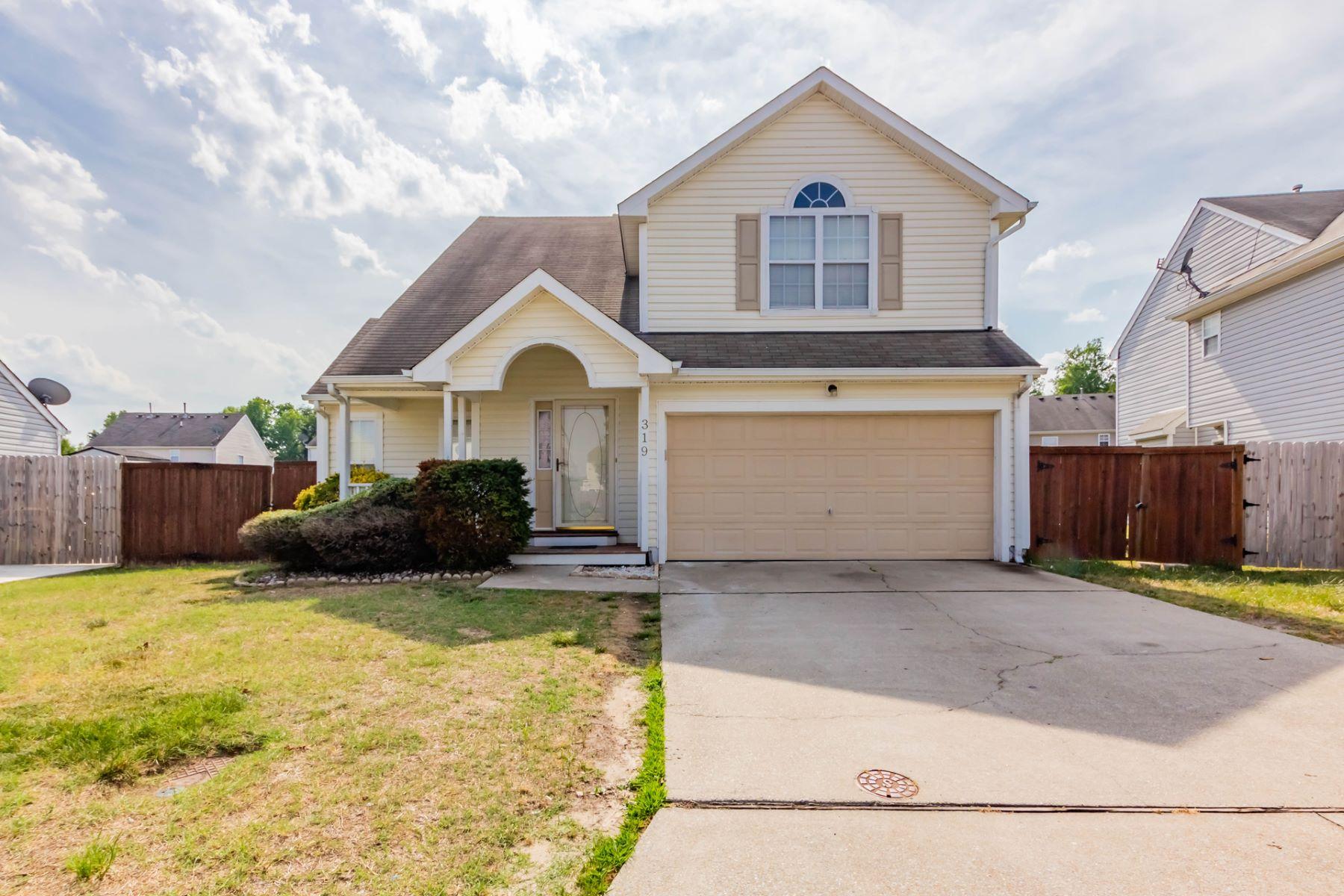 single family homes pour l Vente à Berkshire Meadows 319 Gauntlet Way Suffolk, Virginia 23434 États-Unis