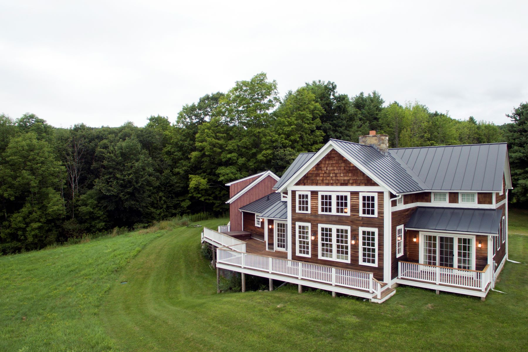 Single Family Home for Sale at Custom Built with Exceptional Views 661 Old Lake Rd Poultney, Vermont 05764 United States