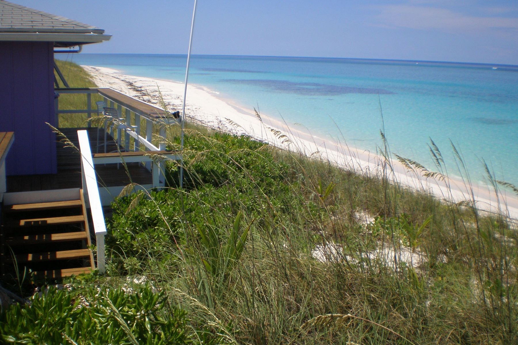 Land for Sale at 300' beachfront Scotland Cay, Abaco Bahamas