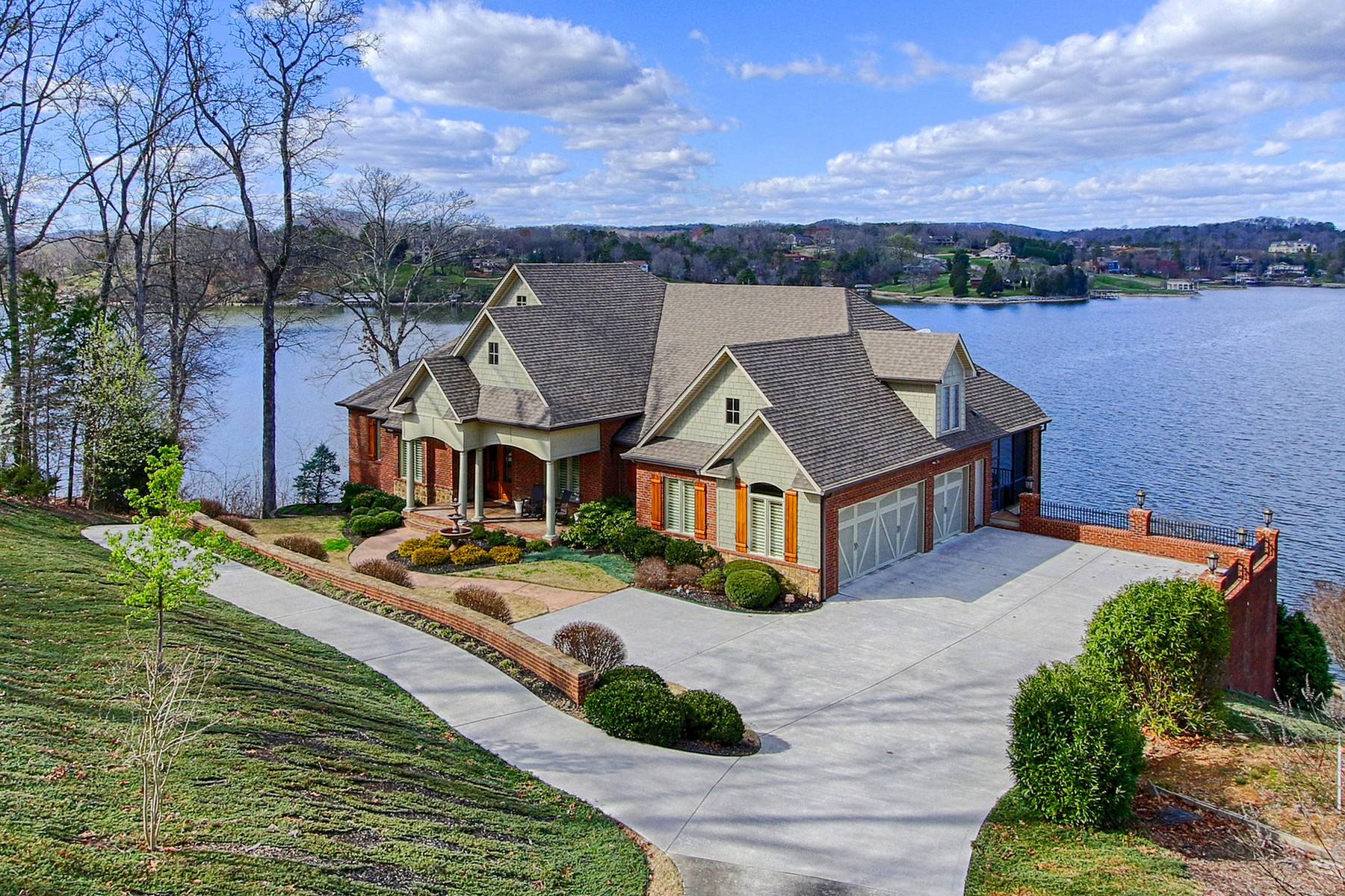 Single Family Home for Sale at Lakefront Watershaw Home with Stunning Views 643 Watershaw Drive Friendsville, Tennessee 37737 United States