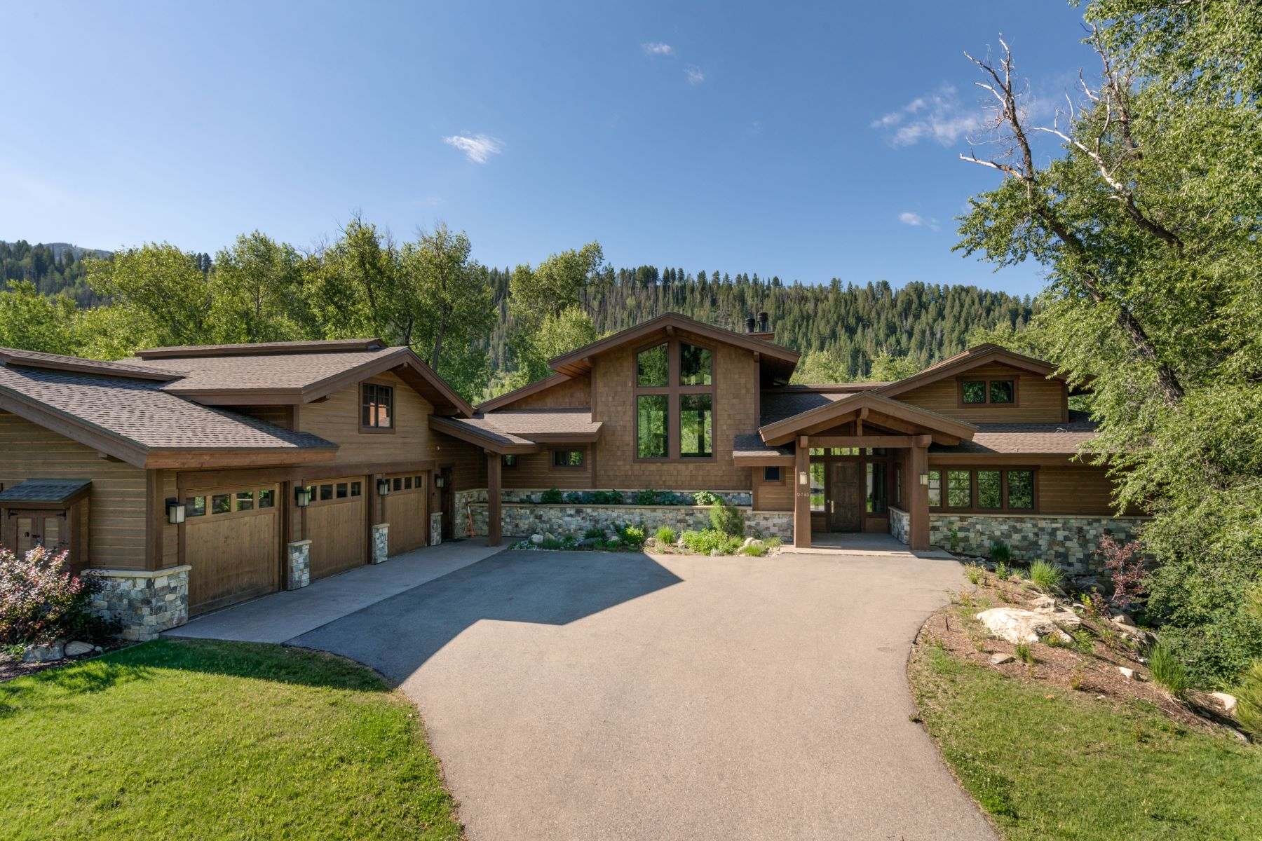 Single Family Home for Sale at Sanctuary on the Creek 2745 Whitewater Lane Steamboat Springs, Colorado 80487 United States