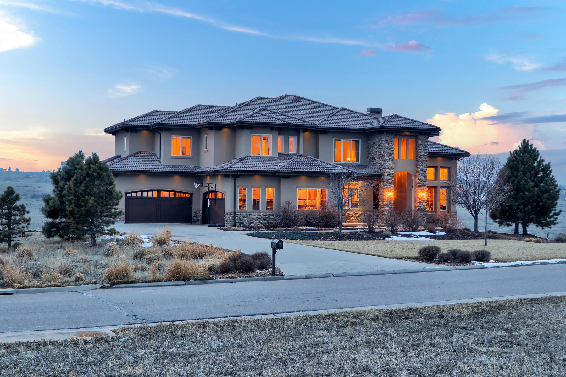 Single Family Homes for Sale at The Home You've Longed For 9863 Sara Gulch Cir Parker, Colorado 80138 United States