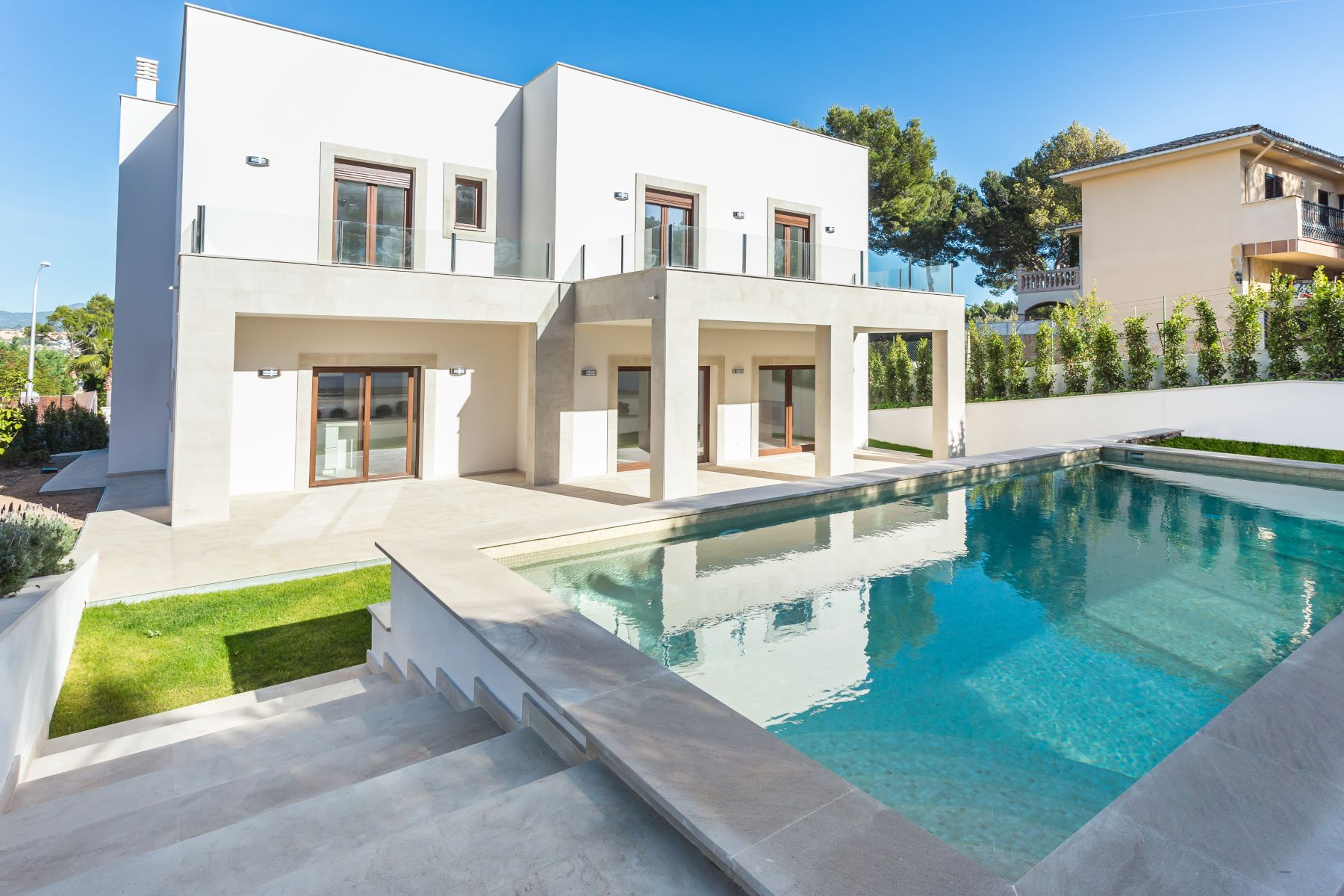 Single Family Home for Sale at Luxury villa under construction Nova Santa Ponsa, Mallorca, Spain