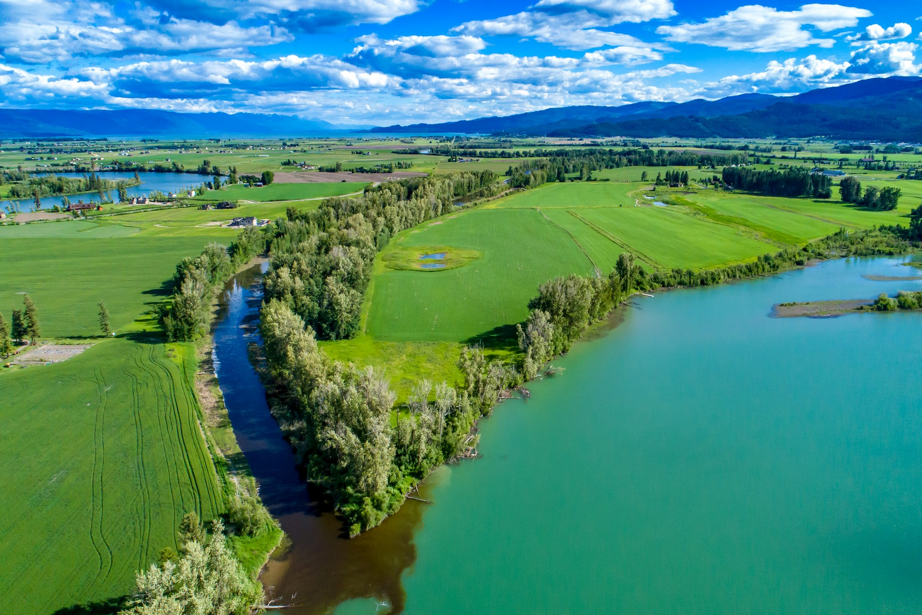 Single Family Homes for Sale at 1565 Lower Valley Road Kalispell, Montana 59901 United States