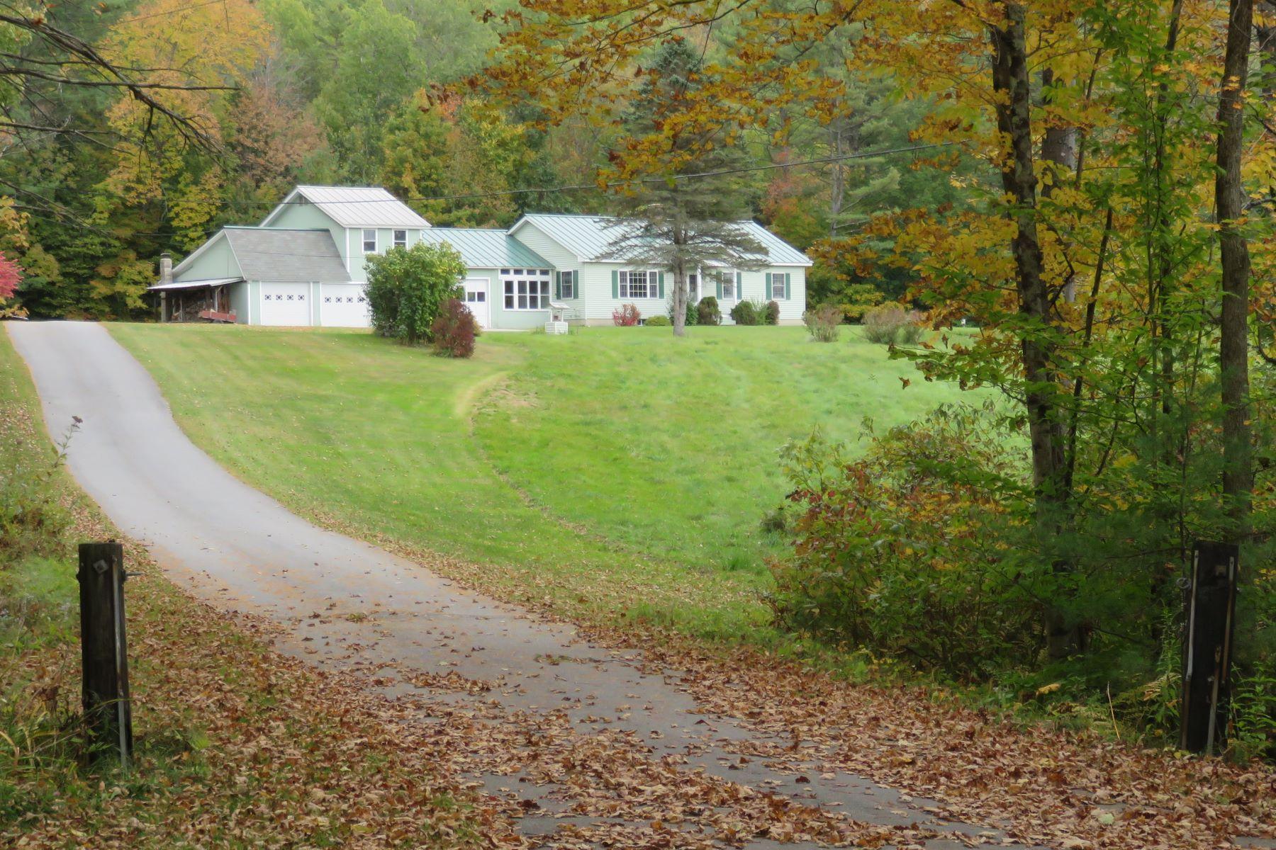 Single Family Homes 为 销售 在 Three Bedroom Ranch in Cornish 34 Dingleton Hill Rd 康沃尔, 新罕布什尔州 03745 美国