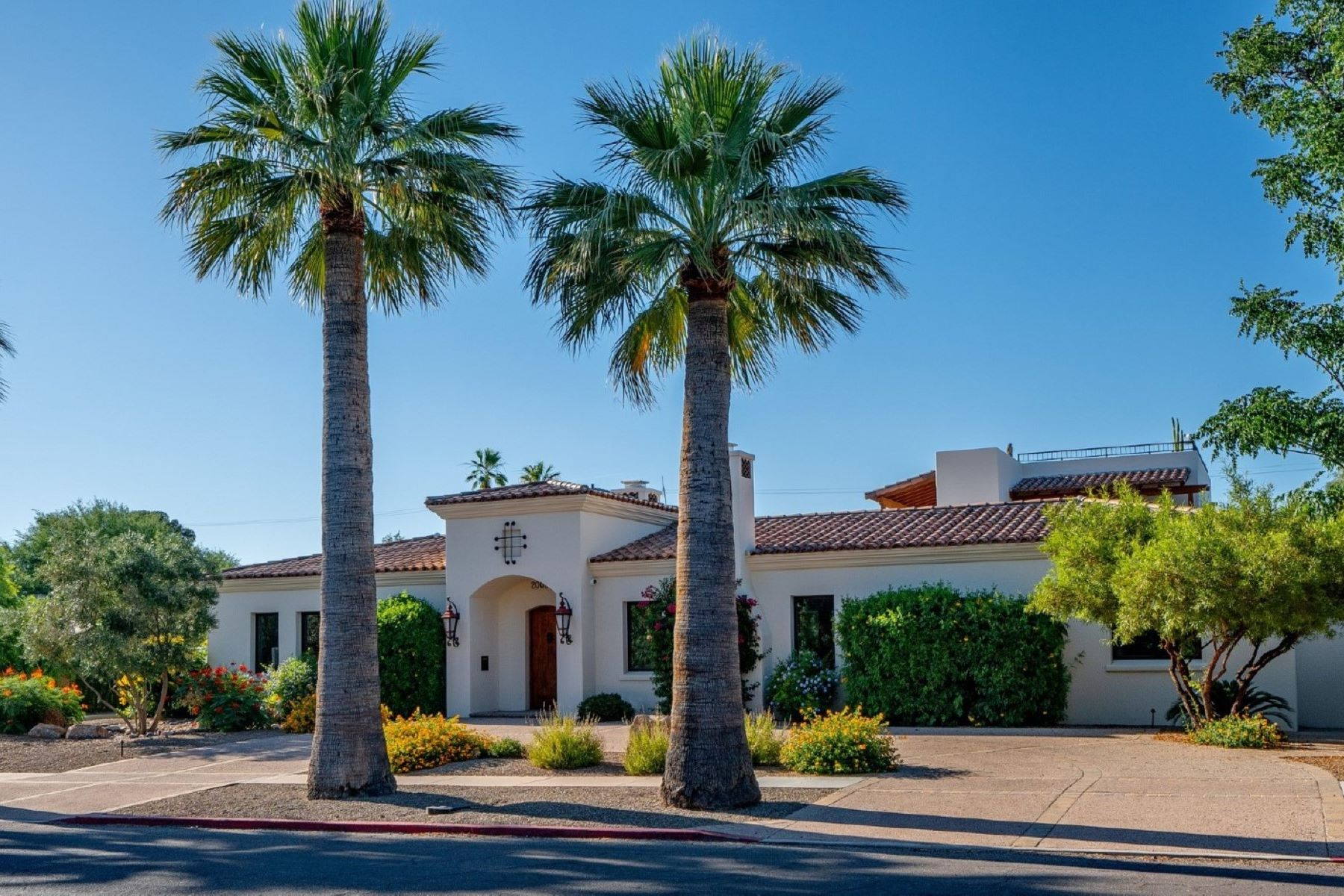 single family homes for Active at Elegant Santa Barbara Style Home & Casita 2003 E 5th Street Tucson, Arizona 85719 United States