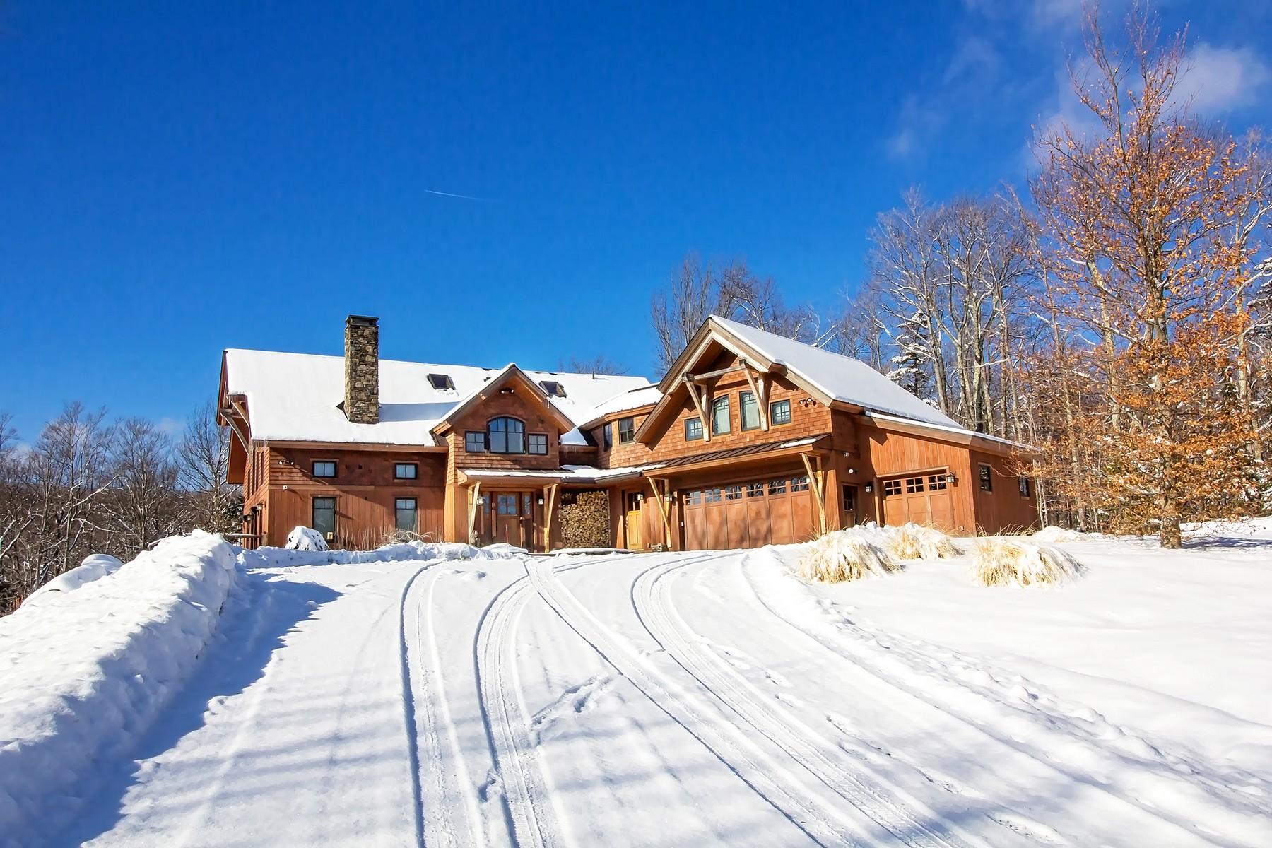 独户住宅 为 销售 在 Spectactular Location, Views and Home 133 Handle Rd, 多佛, 佛蒙特州, 05356 美国