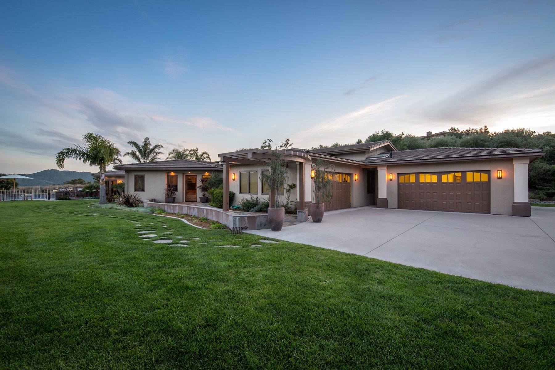 獨棟家庭住宅 為 出售 在 Bassi Ranch Estate, 2 Guest Houses & Pool House 425 Bassi Drive, San Luis Obispo, 加利福尼亞州, 93405 美國