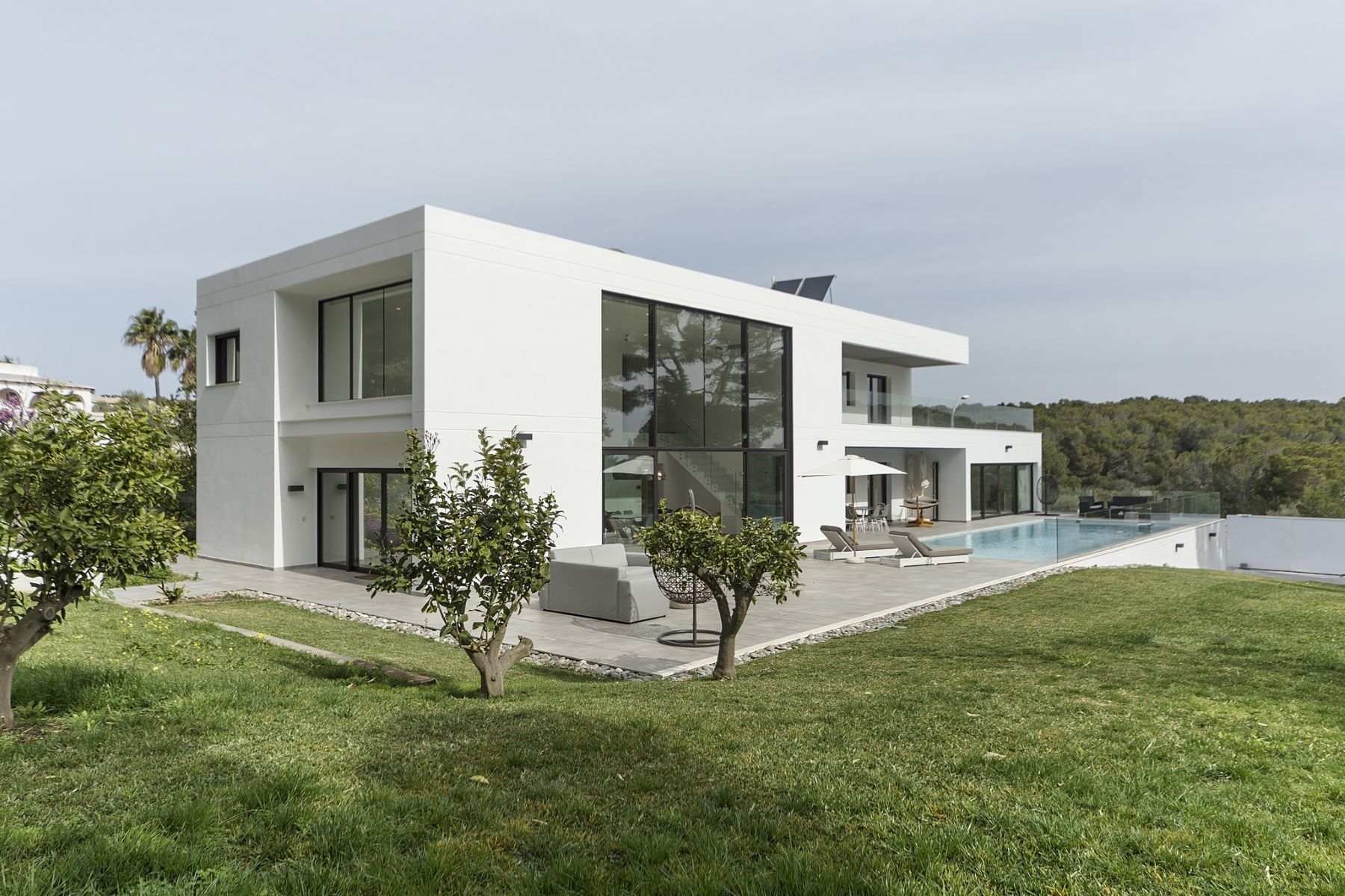 Single Family Home for Sale at Modern villa with a big garden close to the beach Calvia, Balearic Islands Spain