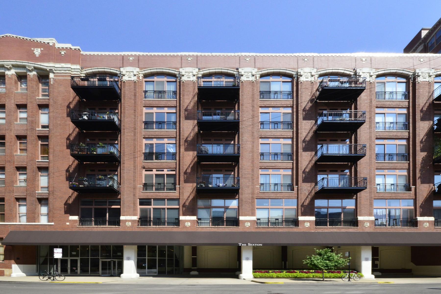 Condominium for Sale at Northeast Corner Loft 360 W Illinois Street Unit 3A Chicago, Illinois 60610 United States