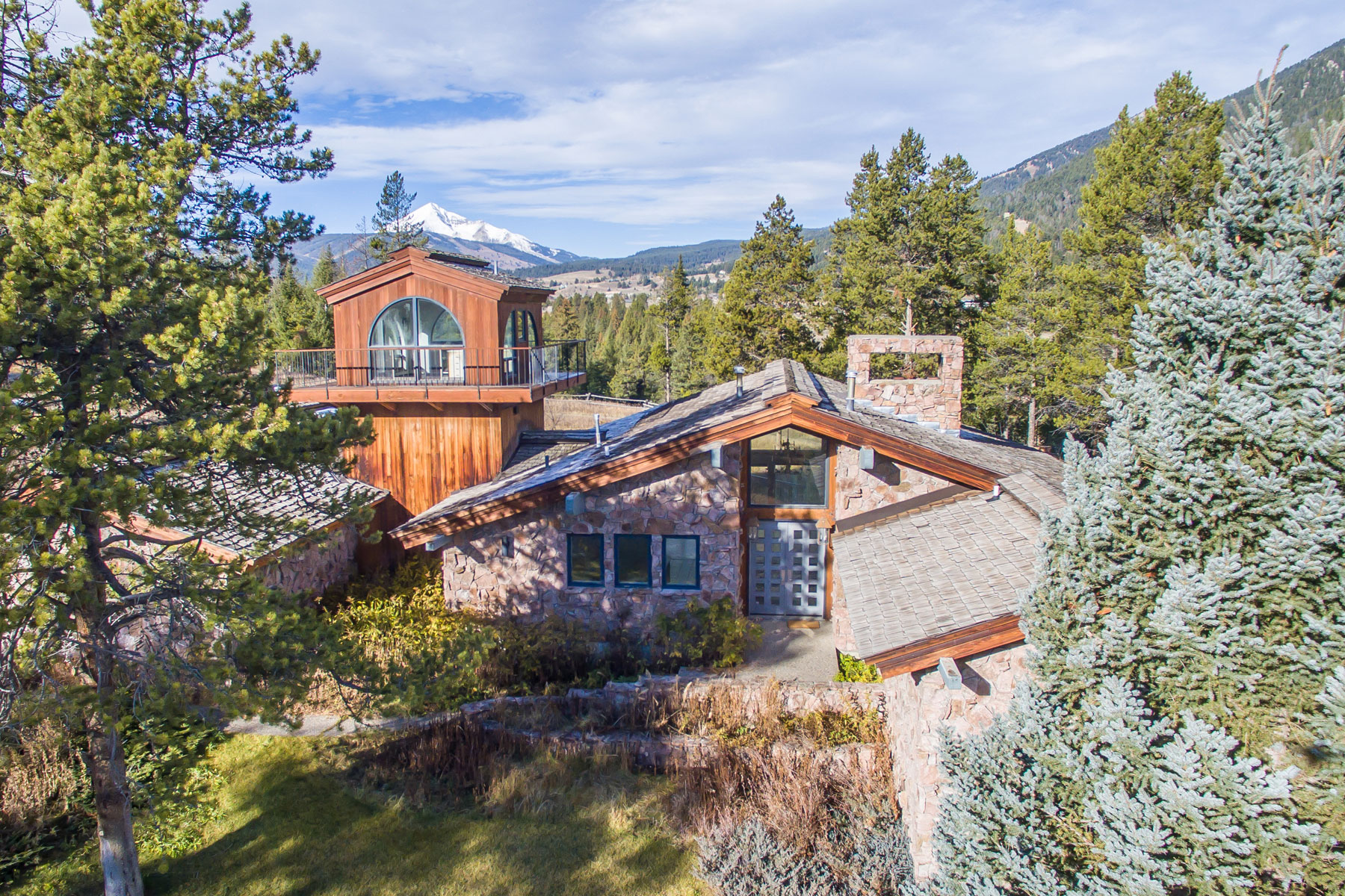 Casa Unifamiliar por un Venta en 5-B Ranch 942 Lone Mountain Trail Big Sky, Montana, 59716 Estados Unidos