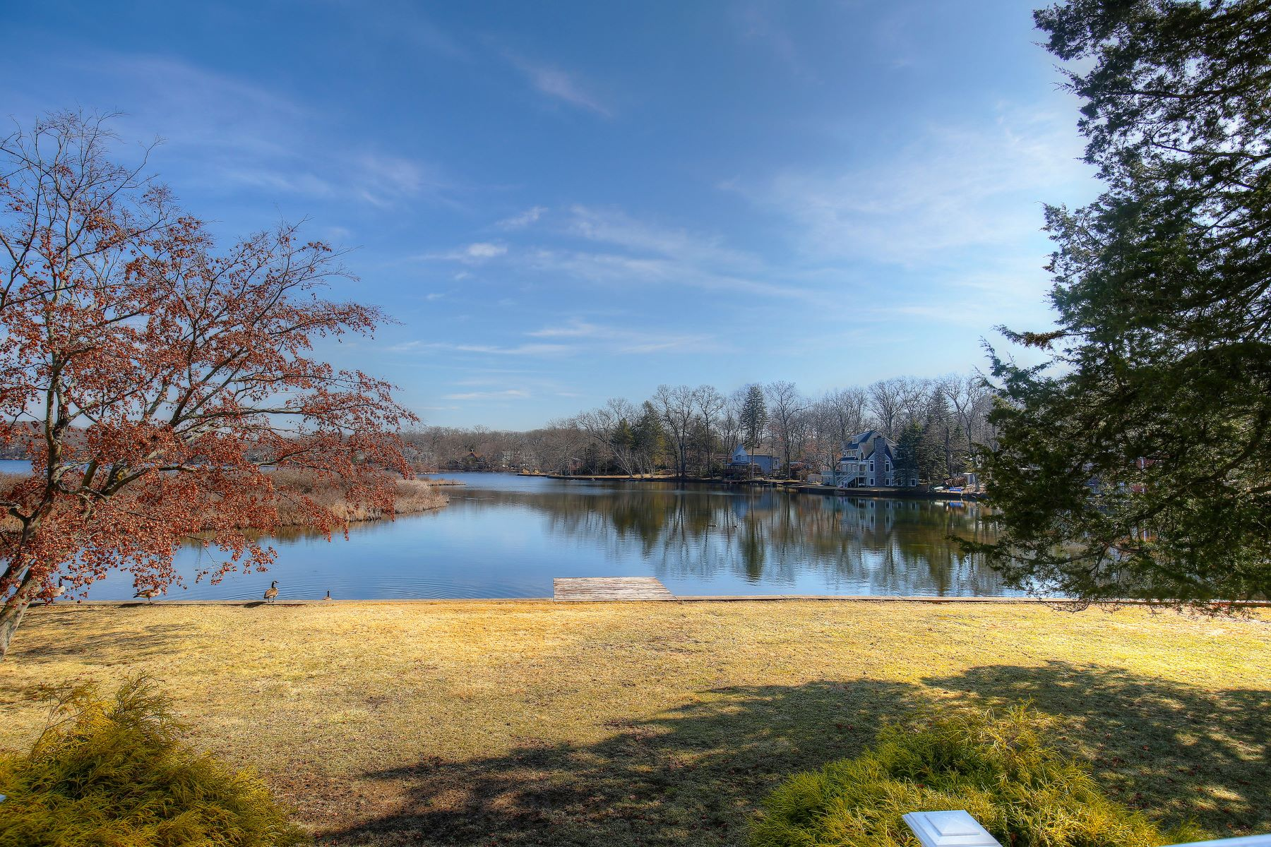 Single Family Home for Sale at Stunning Lakefront Views 10 Cedar Lake West Denville, New Jersey 07834 United States