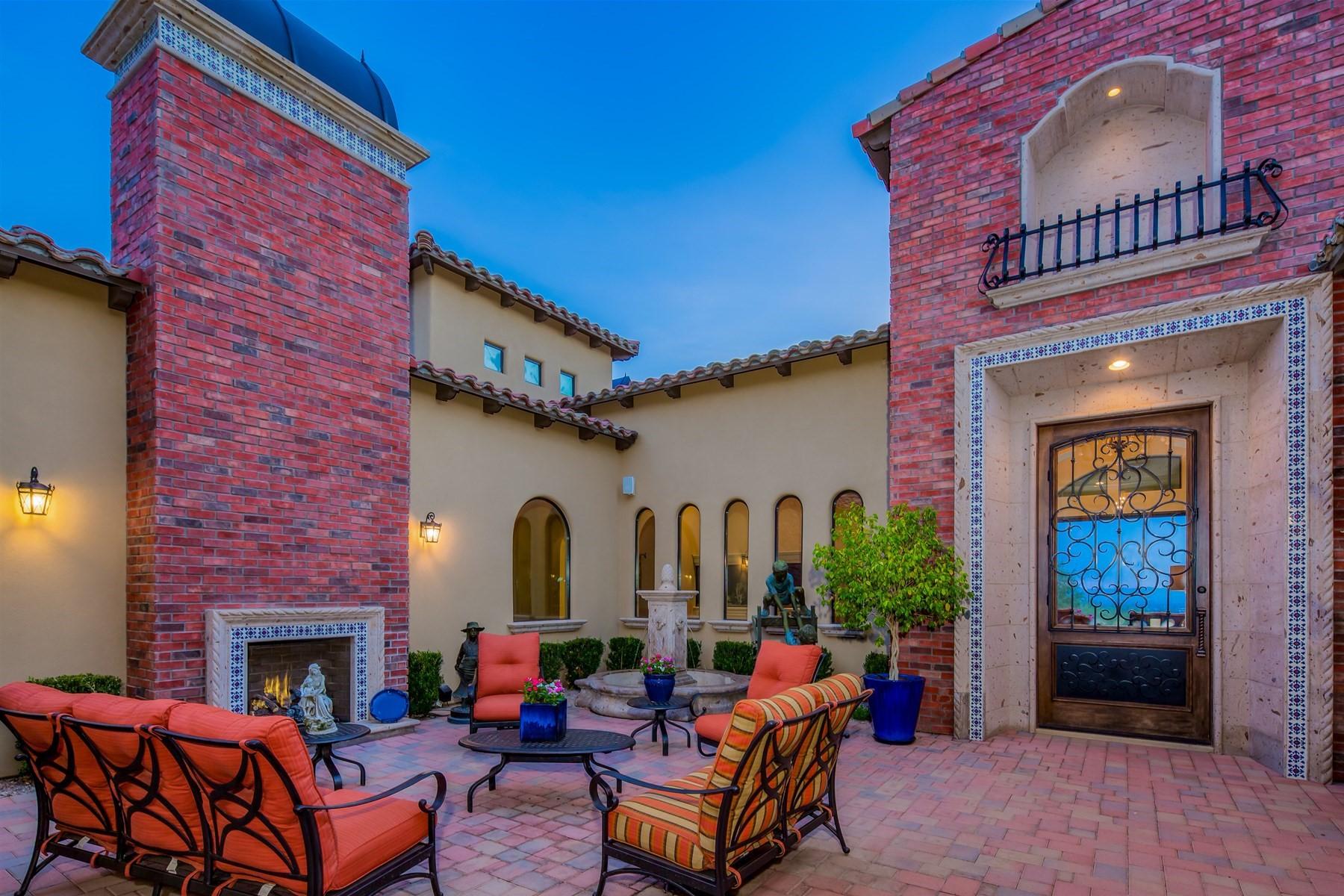 Single Family Homes por un Venta en Mountain Estates At Las Sendas 3711 N Hawes Rd Mesa, Arizona 85207 Estados Unidos