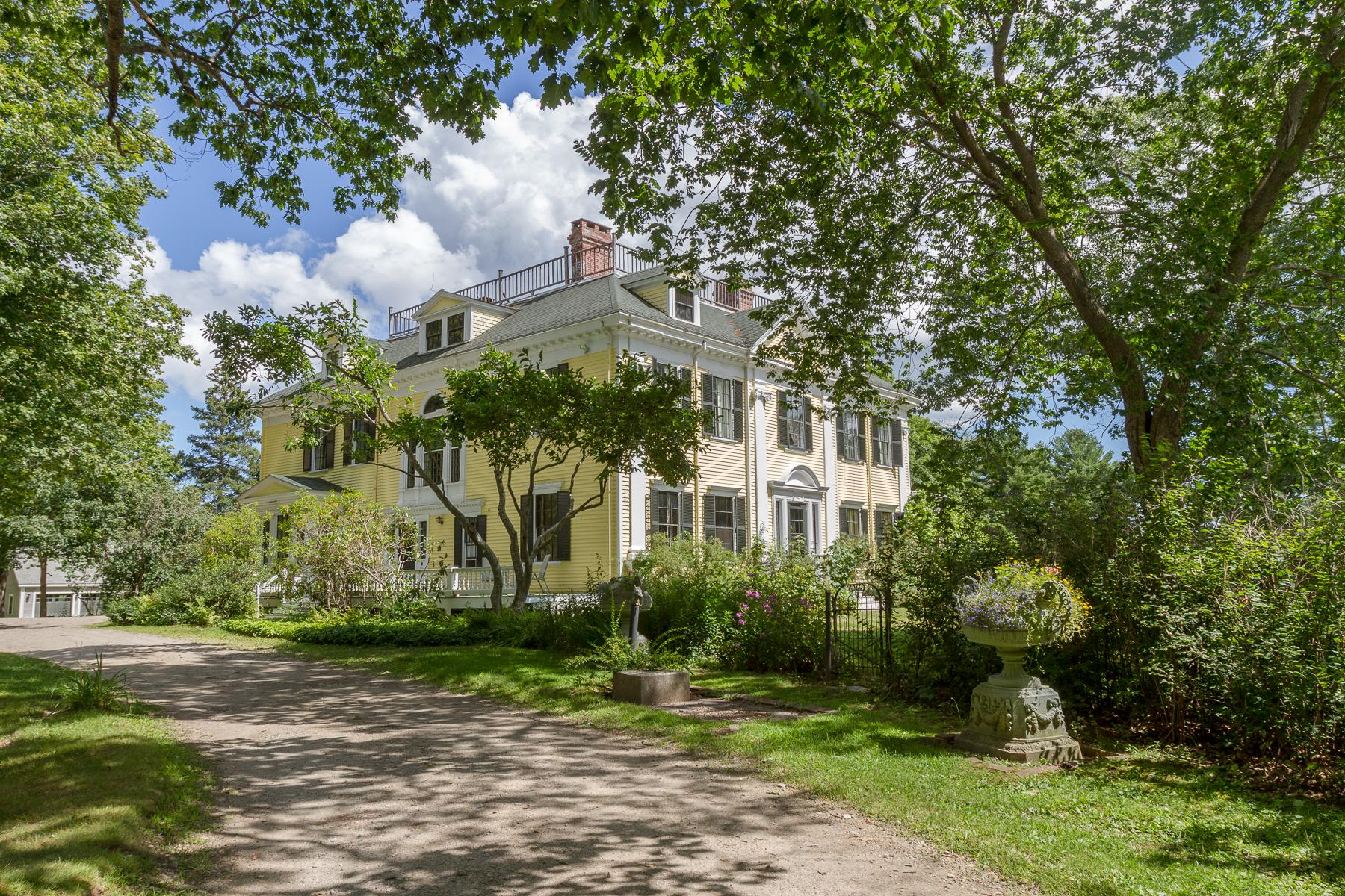 Casa Unifamiliar por un Venta en 185 Glidden Street Newcastle, Maine, 04553 Estados Unidos