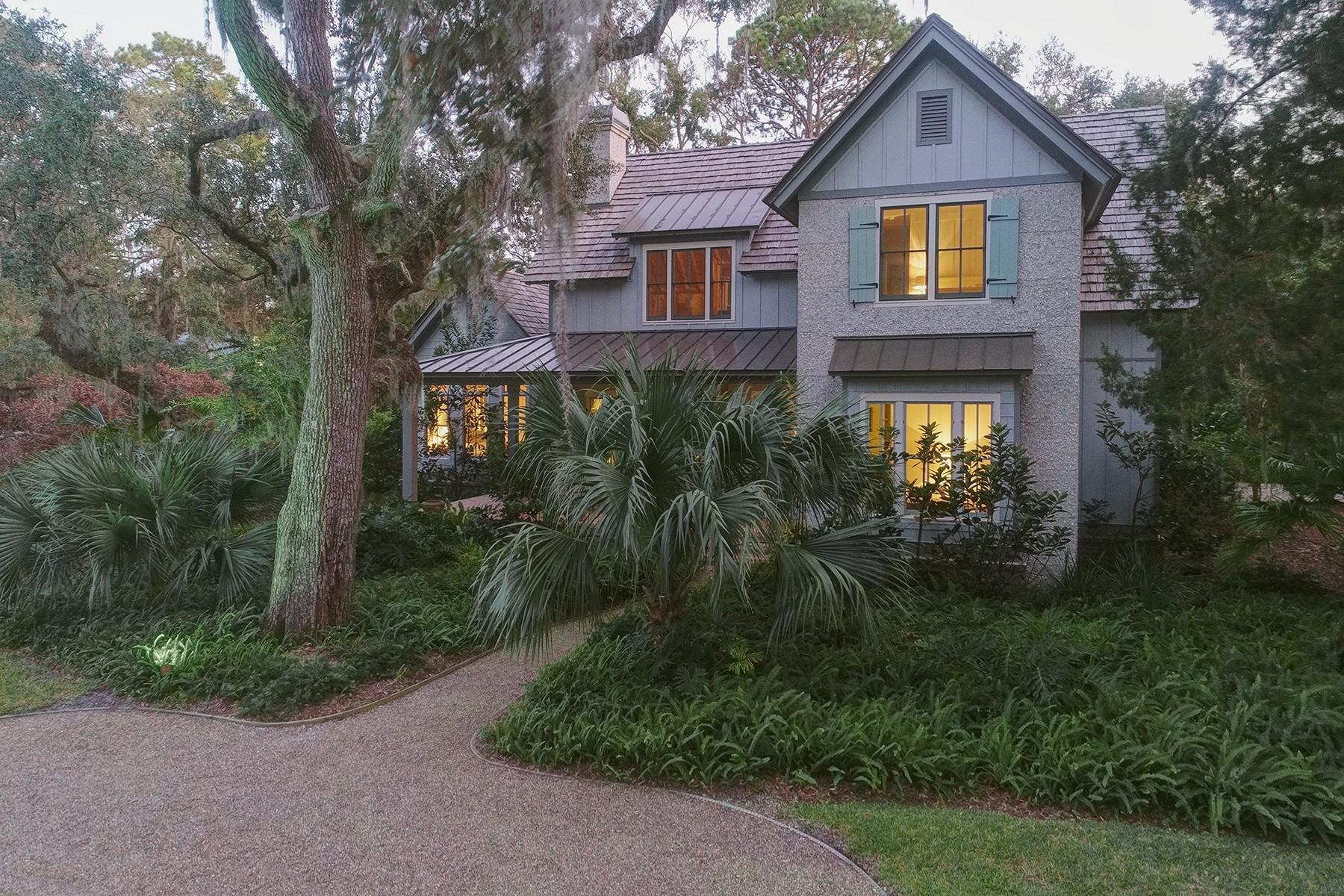 獨棟家庭住宅 為 出售 在 28 Wildlife Drive 28 Wildlife Drive St. Simons Island, 喬治亞州 31522 美國