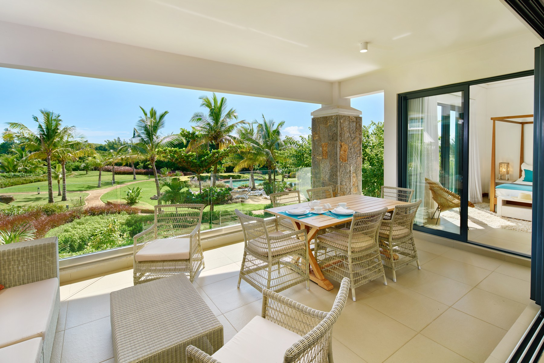 Квартира для того Продажа на Freehold Oceanfront Townhouse, Coralis, Azuri Roches Noires, Riviere Du Rempart, Маврикий