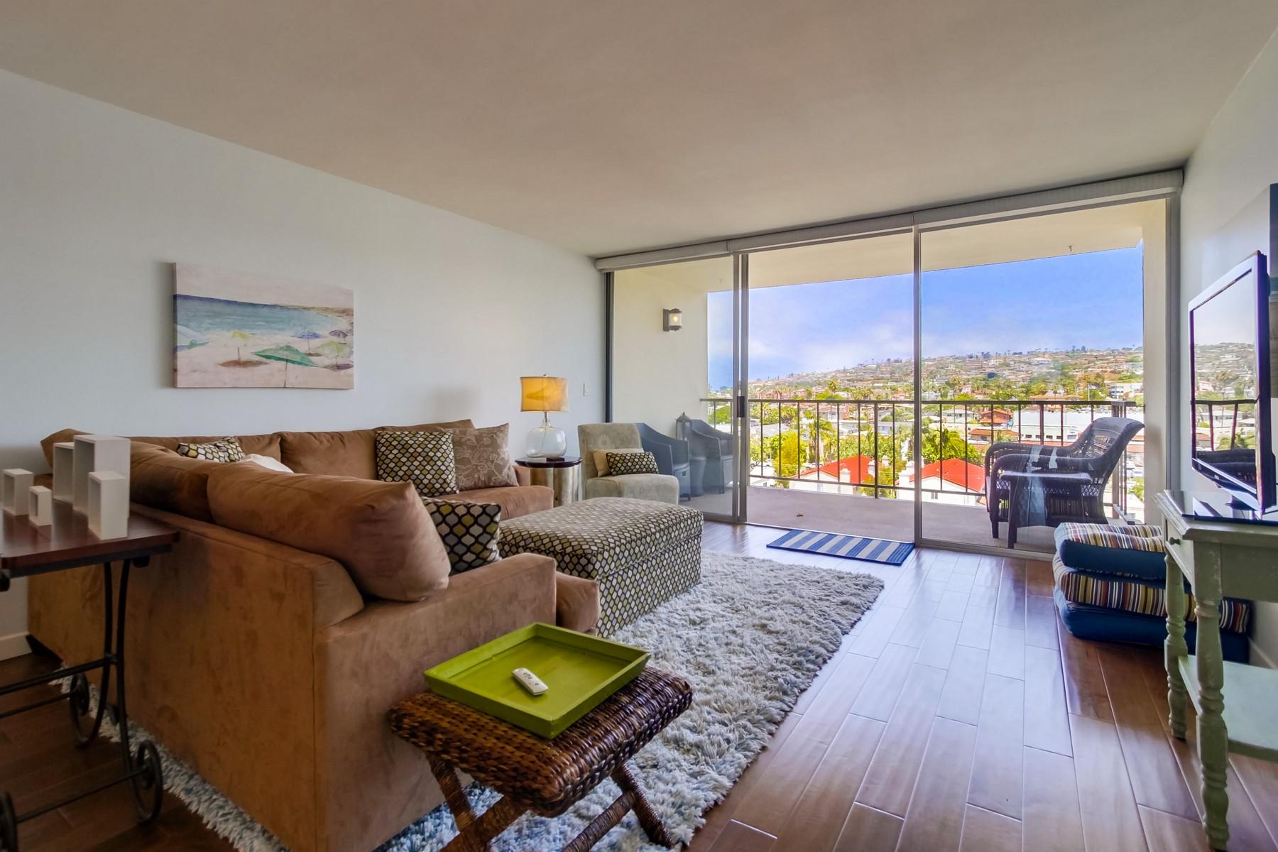 Condominium for Rent at 4944 Cass #804 4944 Cass #804 San Diego, California 92109 United States
