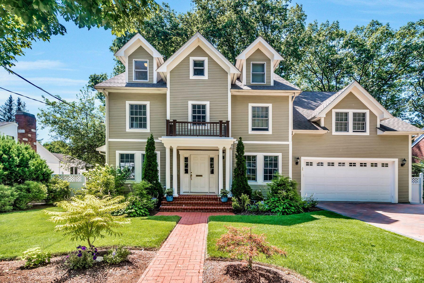 Single Family Home for Sale at 44 Parker Avenue, Newton Newton, Massachusetts 02459 United States