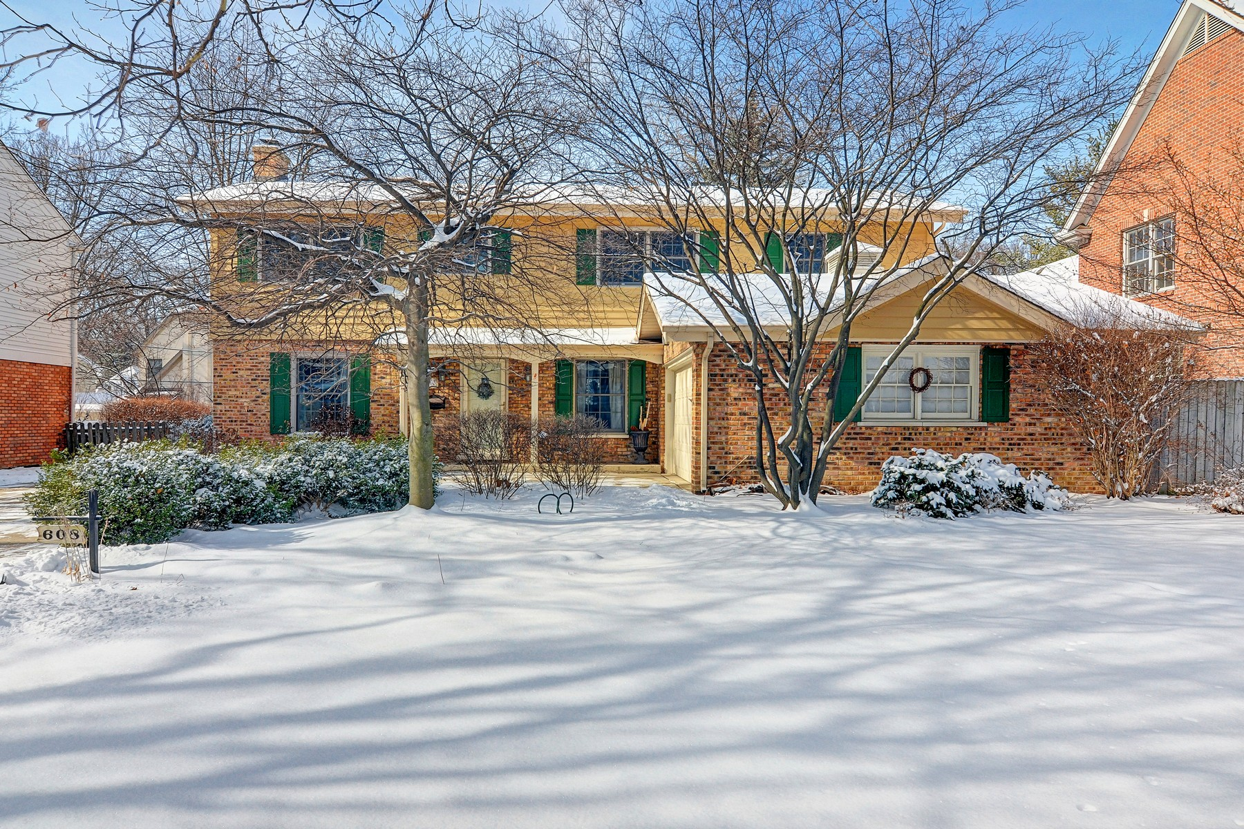 Tek Ailelik Ev için Satış at 608 Franklin Hinsdale, Illinois, 60521 Amerika Birleşik Devletleri
