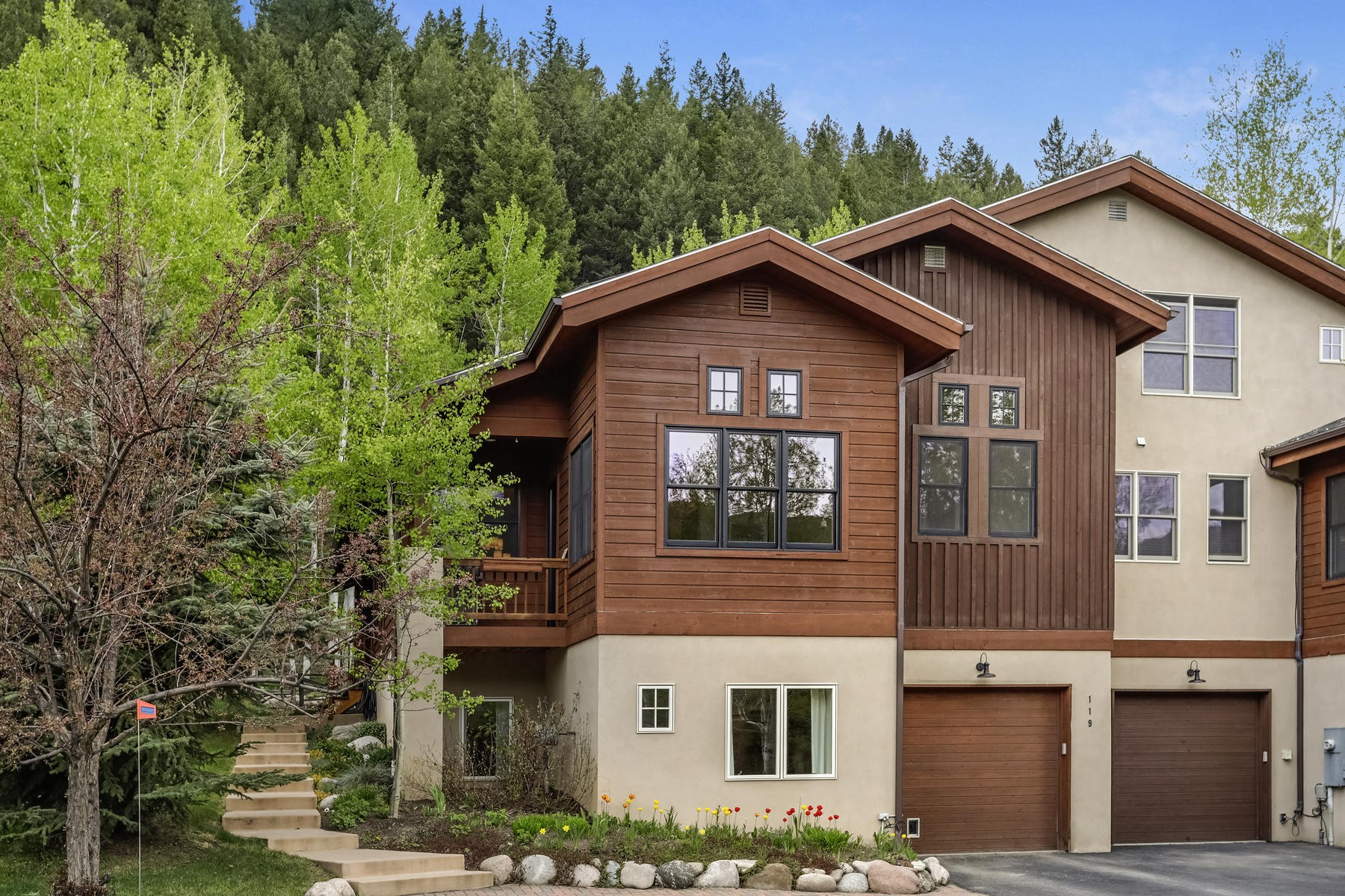 Duplex Homes for Sale at Immaculately remodeled home 119 Elk Lane Avon, Colorado 81620 United States
