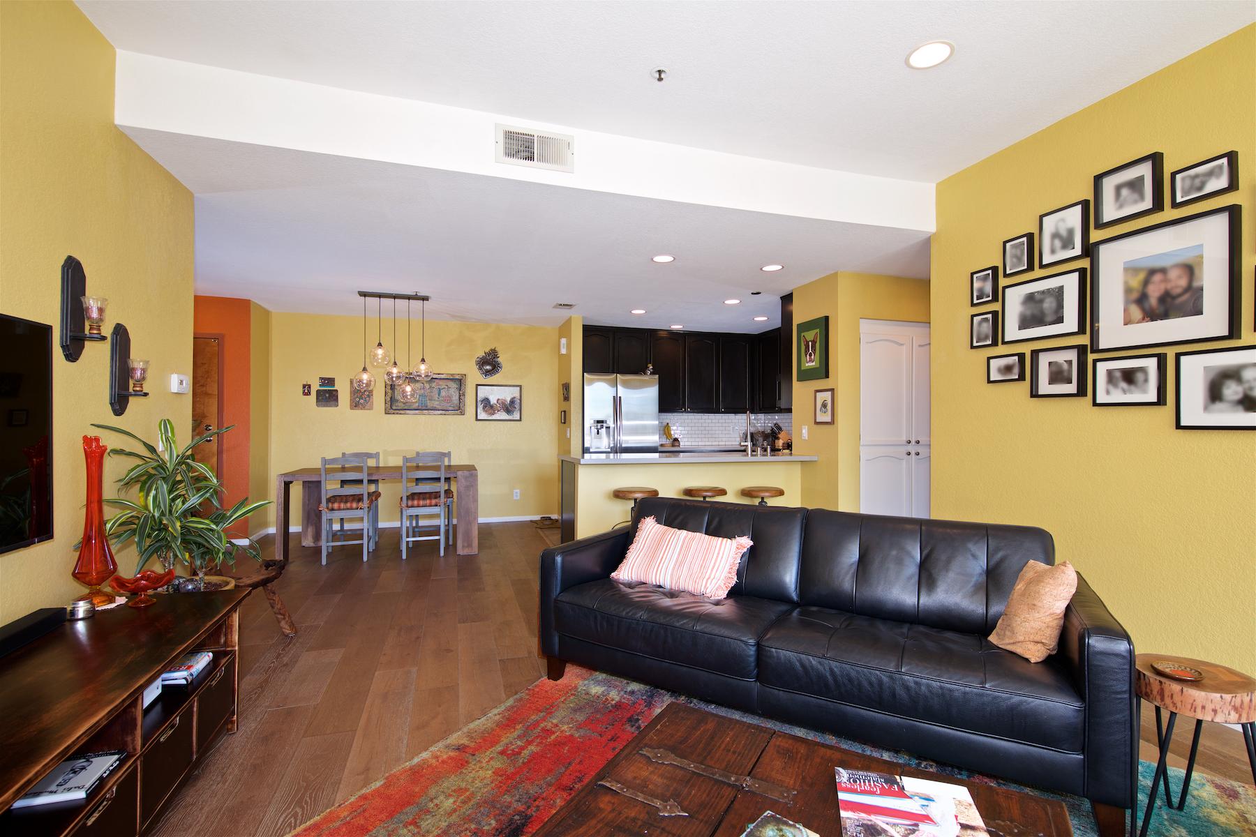 Кондоминиум для того Продажа на 2445 Brant St. #508 San Diego, Калифорния, 92101 Соединенные Штаты