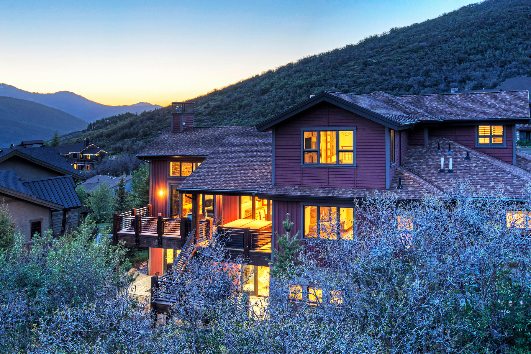 Single Family Home for Sale at Fresh Mountain Modern with Incredible Views 1468 April Mountain Dr Park City, Utah 84060 United States