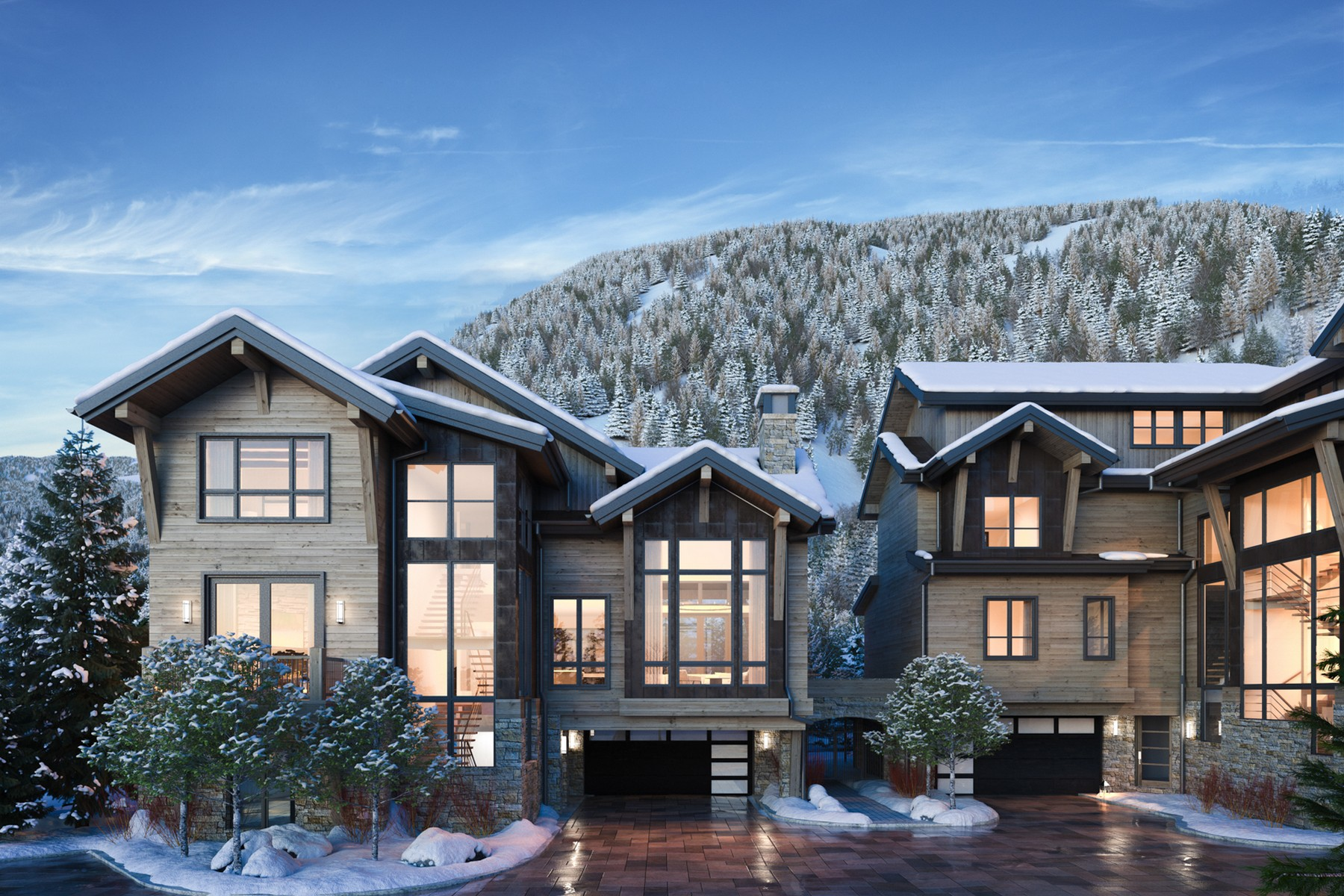 Single Family Homes for Sale at Peregrine Villas 185 Elk Track Road Beaver Creek, Colorado 81620 United States
