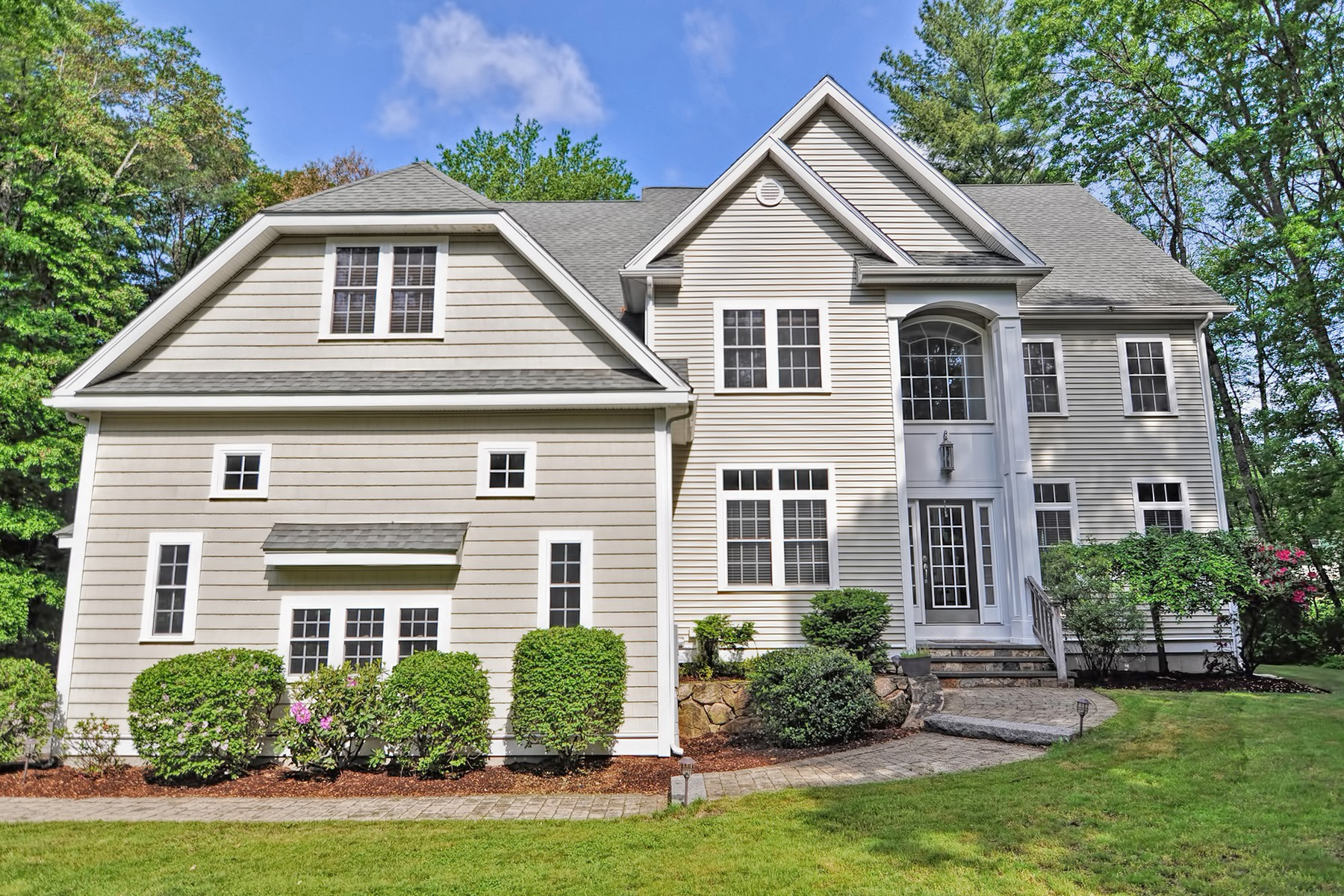 Single Family Homes for Active at Exceptional Young Colonial 35 Ted Lane Southborough, Massachusetts 01772 United States