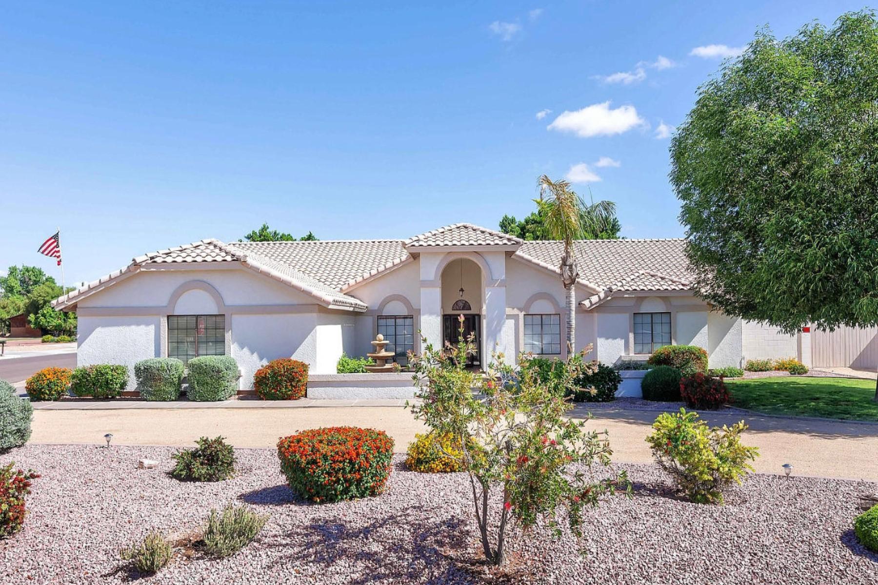 Single Family Homes for Sale at Citrus Garden Estates 8642 W VIA MONTOYA DR Peoria, Arizona 85383 United States