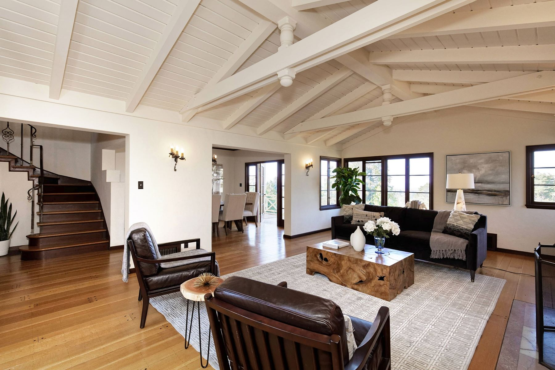Single Family Homes for Sale at Enchanting Modern Spanish Home 34 Sonia Street Oakland, California 94618 United States