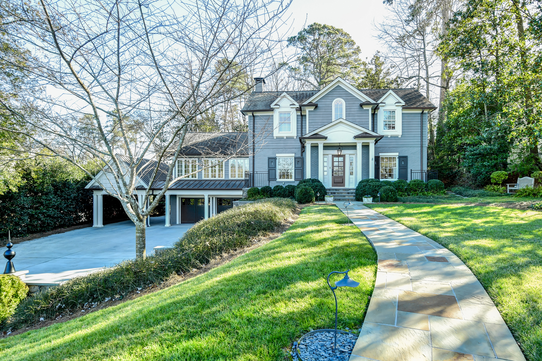 Single Family Home for Sale at Exceptional Style and Sophistication in this Historic Brookhaven Home 19 Brookhaven Drive NE Atlanta, Georgia 30319 United States