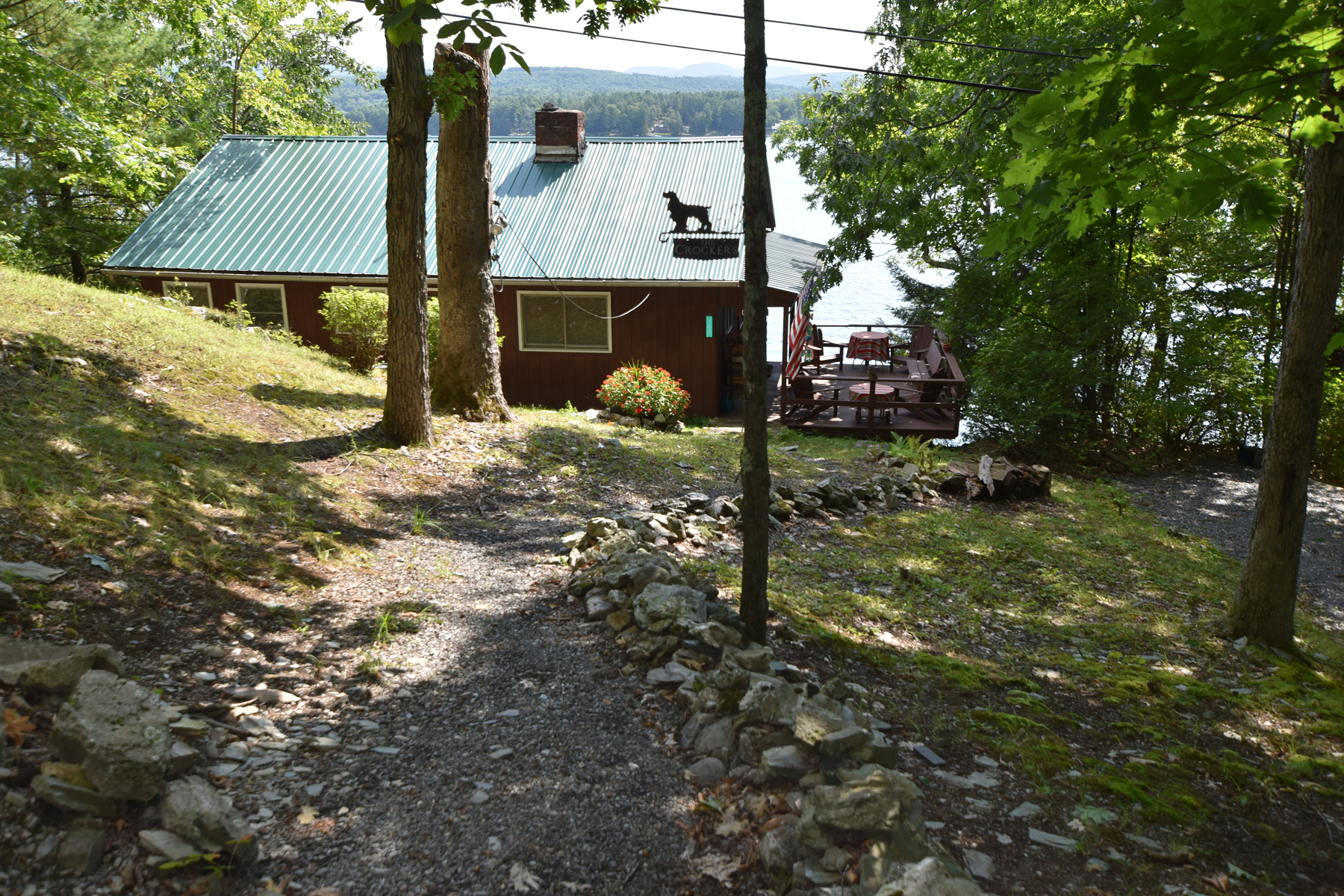 Single Family Homes for Sale at A Charming Camp with Beautiful Views! 160 Ryan Road Castleton, Vermont 05735 United States