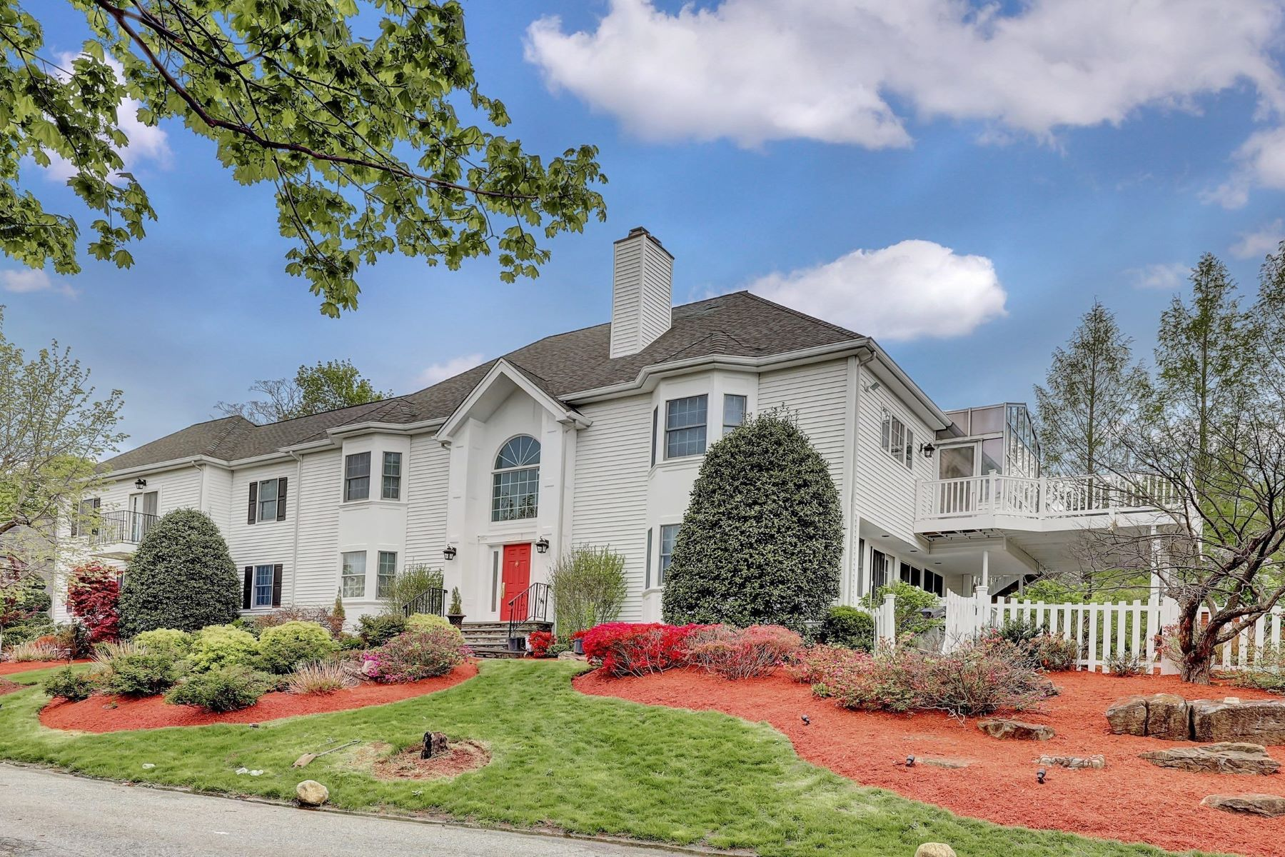 Single Family Homes 용 매매 에 Prestigious Alpine 25 Old Dock Rd, Alpine, 뉴저지 07620 미국