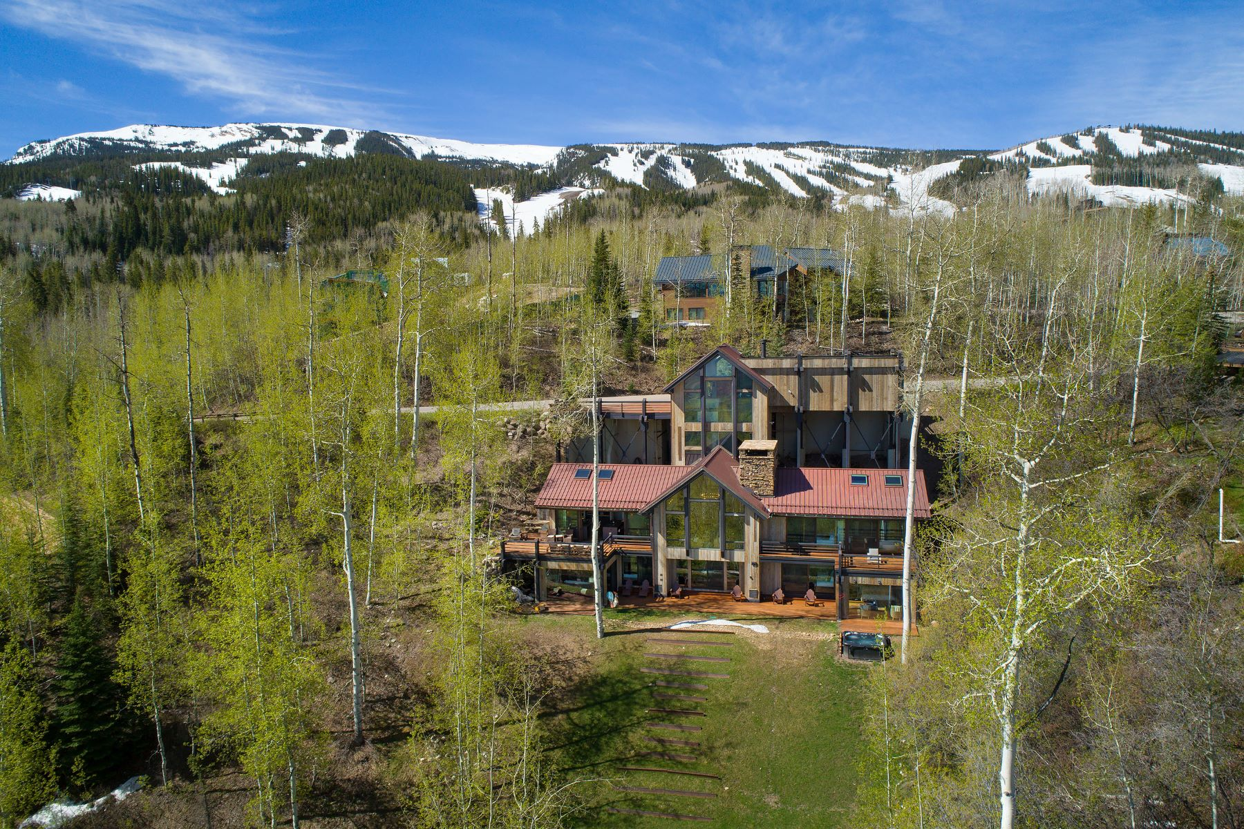 Single Family Homes for Sale at Overlooking Snowmass Village 1581 Wood Road Snowmass Village, Colorado 81615 United States