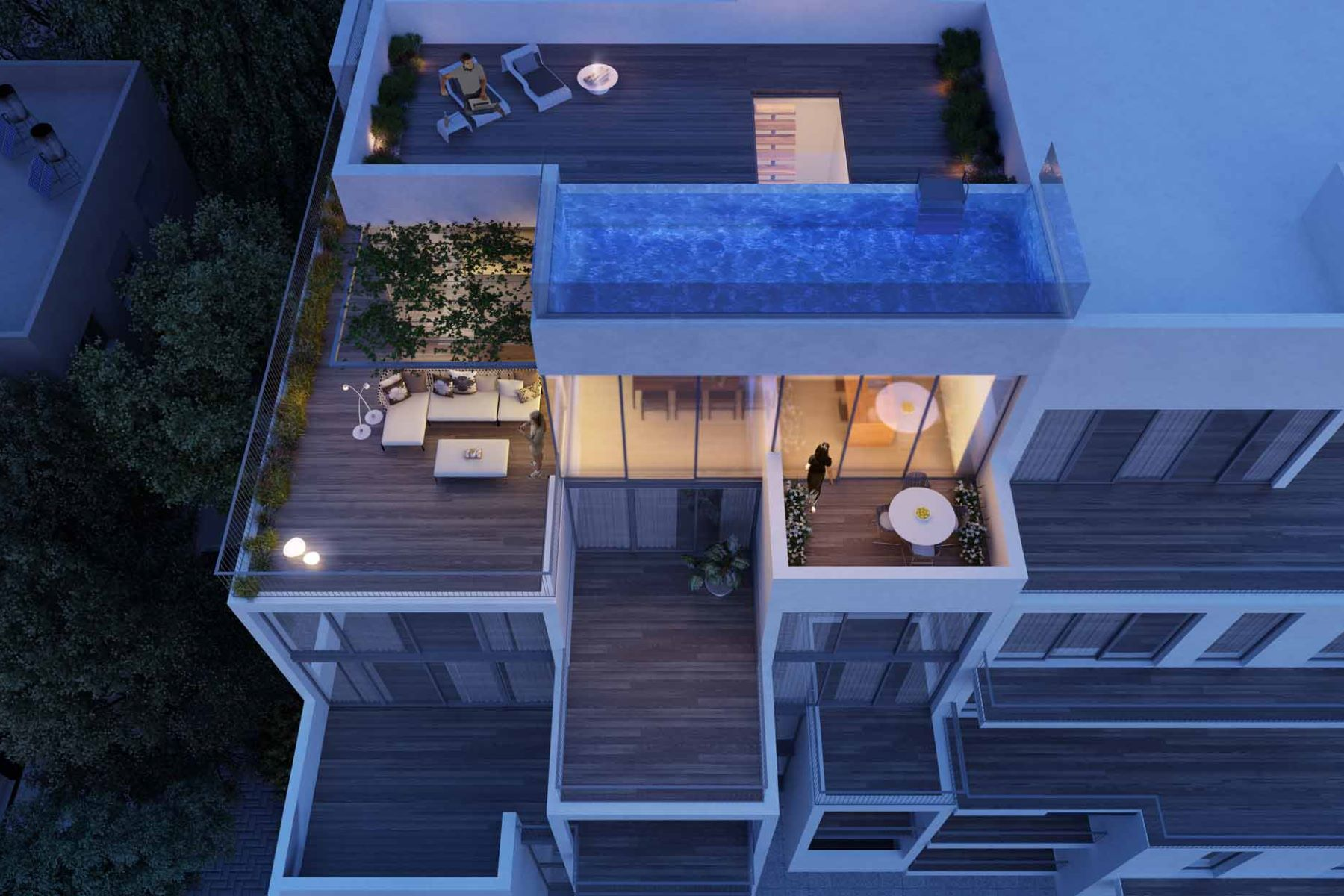 Additional photo for property listing at Exquisite Brand New Penthouse with Private Pool Tel Aviv, Israel Israel